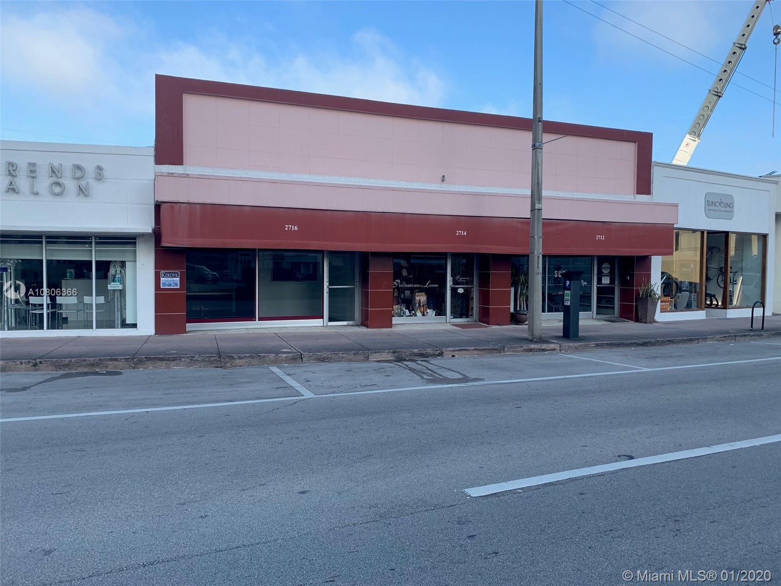 2716  Ponce De Leon Blvd  For Sale A10806366, FL