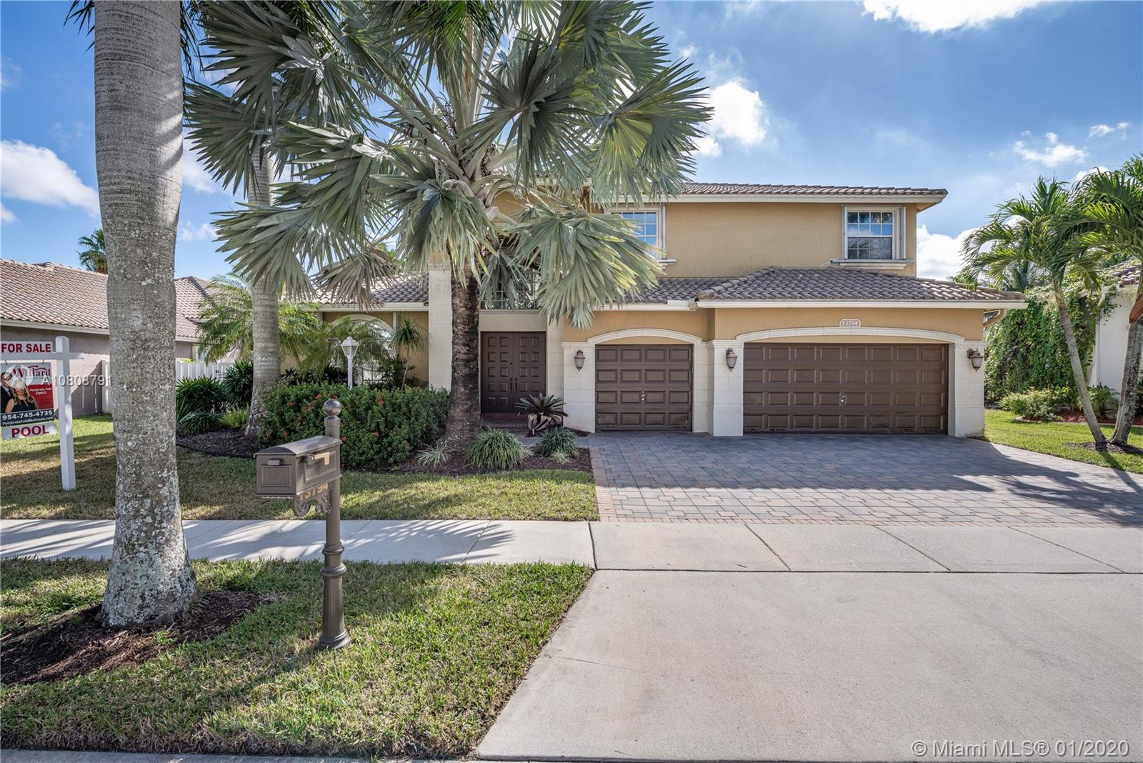 ***Contemporary, 5 Bed, 5 Bath, RADCLIFFE  POOL HOME in Exclusive Crystal Harbour@Pembroke Falls: Grand Foyer Entry, Formal Dining/Living, Open Kitchen, Cherry Cabinetry, Granite, SS Appliances, Gas Range, Double Oven, Island, Breakfast Nook & Serving Bar, Spacious Master Suite w/Sitting Area, His & Hers Walk-in Closets, Dual Vanities, Roman Soaking Tub, Neutral Tile/Wood Flooring, Soaring Ceilings, Custom Mill-work, Large Loft/Game Room, Expansive Covered Patio, Refreshing POOL & SPA w/Sun Deck, Exotic Water Feature & Slide, Fenced Grounds, Accordion Shutters & Tropical Landscaping. Resort Style Club House: Heated Pool, Spa, Gym, Tennis, Basketball, Ballroom, Tot-Lots & Activities Director. HOA Includes: Cable/Internet/Alarm. Convenient to Shopping, Dining, Entertainment & Schools***