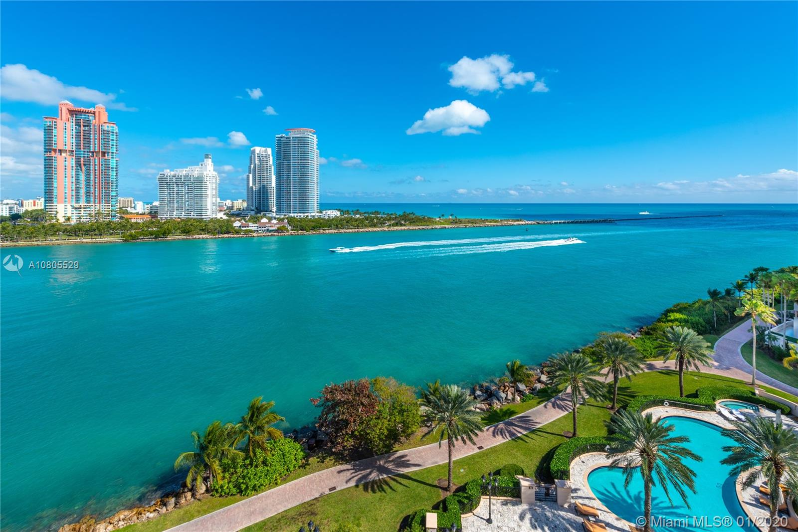7192  Fisher Island Dr #7192 For Sale A10805529, FL