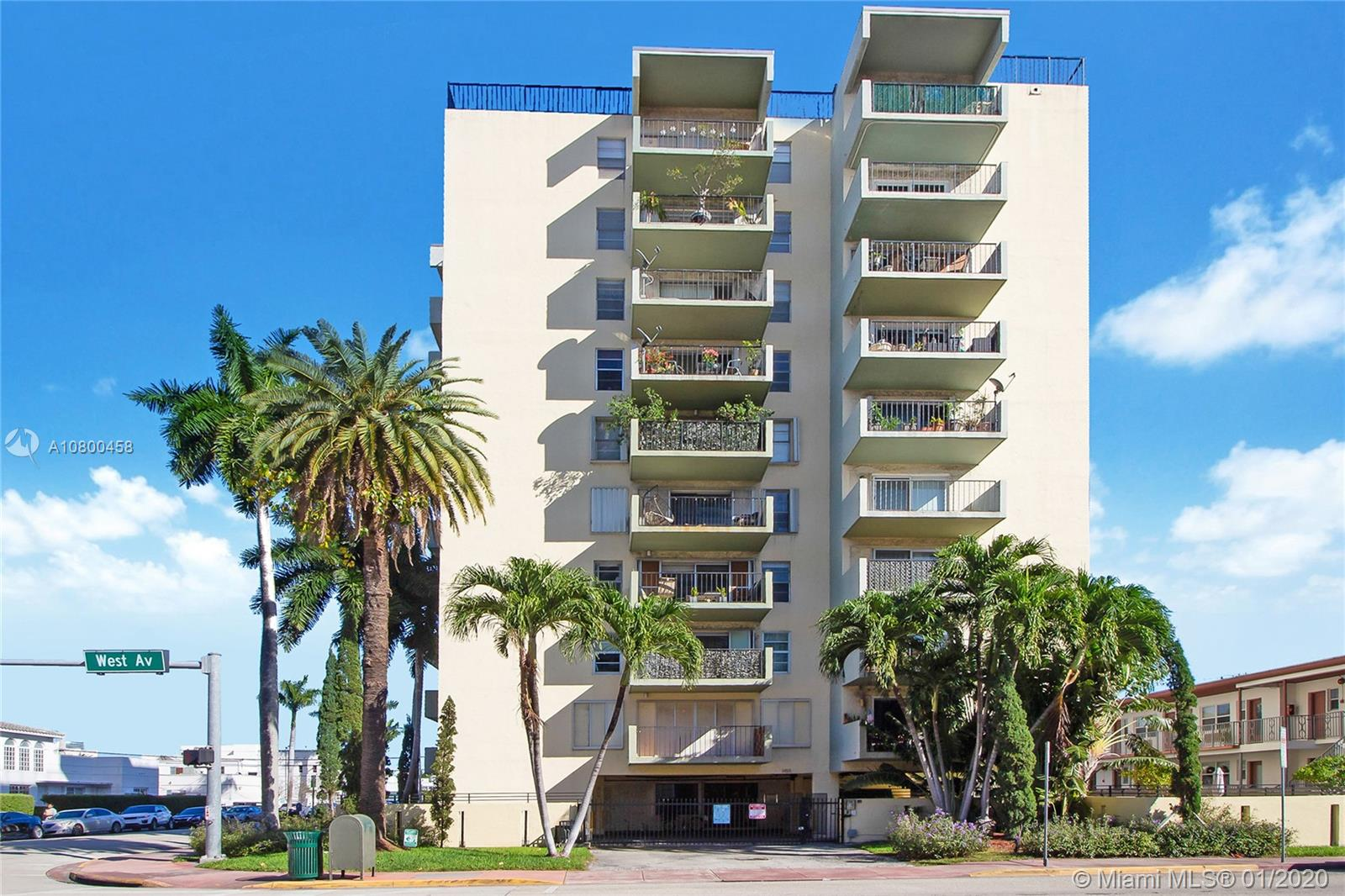 1455  West Ave #802 For Sale A10800458, FL