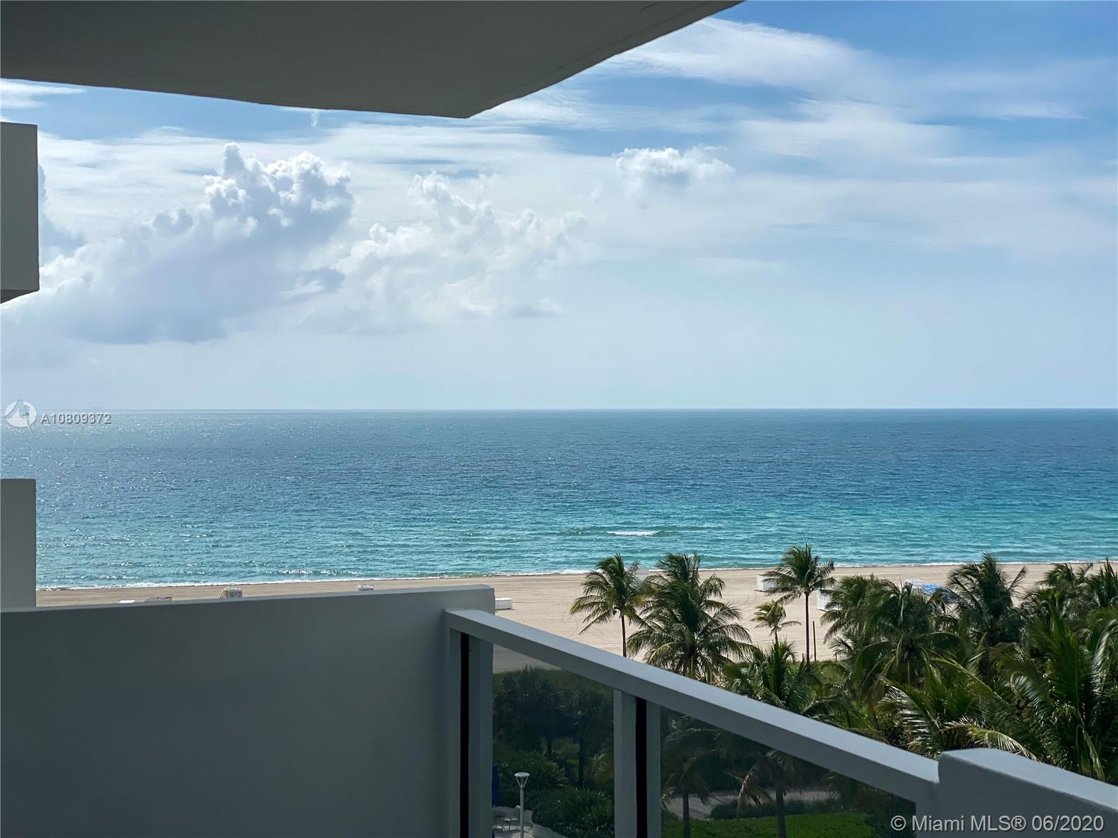 Very desirable junior 1 bedroom south side unit at the Decoplage. Located right off Lincoln Rd and Collins on the ocean. Great view of the ocean and the beach. Faces the ocean/garden so the unit is very quiet. The building allows short term rentals (30 days Minimum) and 12 times a year, so its a perfect pied-à-terre. Come stay and rent while you are not here or buy as an investment for great returns. The building has a large heated pool, recently remodeled gym, library, game room, 24 hour security, valet and discounted beach service. Already has new impact windows and doors which saves on electricity costs and keeps its quiet.