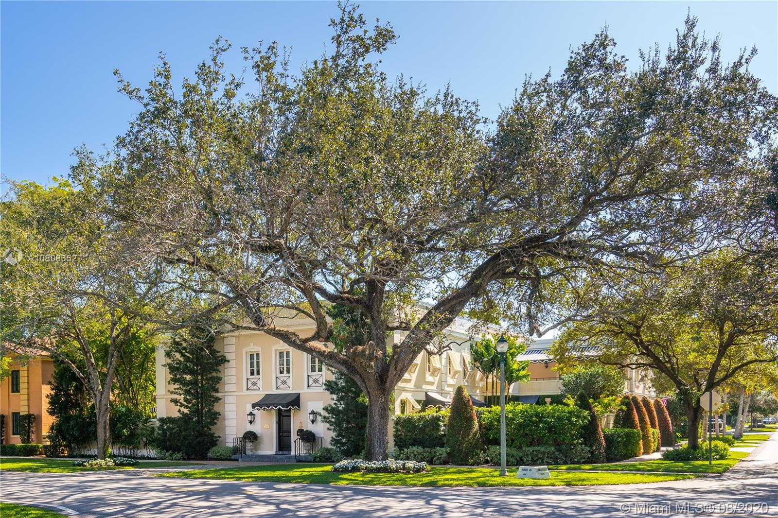 """This once in a lifetime landmark home, located in the historic French Village of Coral Gables, has hosted a President & a Governor during its 95-year existence. Designed by renowned architect, Philip L Goodwin, this home reflects a classical French design. A substantial restoration in 2000 maintained the home's historic integrity while adding the most modern of amenities. The quality of the superior custom crafted interiors is exquisite. The gardens are spectacular & each angle provides an unsurpassed vignette of a refined & cultured life. This aptly named home """"La Belle Vie"""" translates to """"The Good Life"""" which is perfectly befitting this glorious property. This lovingly tended home is a treasure. A Very Special Home"""