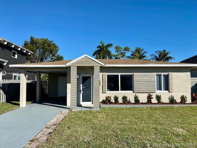 Completely remodeled  2 BED /1 BATH Home in Oakland Park! Brand new ROOF, New Hurricane Impact  rolling Windows and Doors, Brand new A/C, New modern Kitchen with New SS Appliances, custom designed cabinets and quartz  counter top. Remodeled bathroom and New Tankless Water Heater. Completely painted inside and out, LED lighting throughout and NEW 100% water-resistant PVC flooring. Huge backyard area with space for a pool, included external Storage (12x12) New deck and New Irrigation system and landscaping and sod! Completely fenced for privacy. Hurry, this Home will not last.