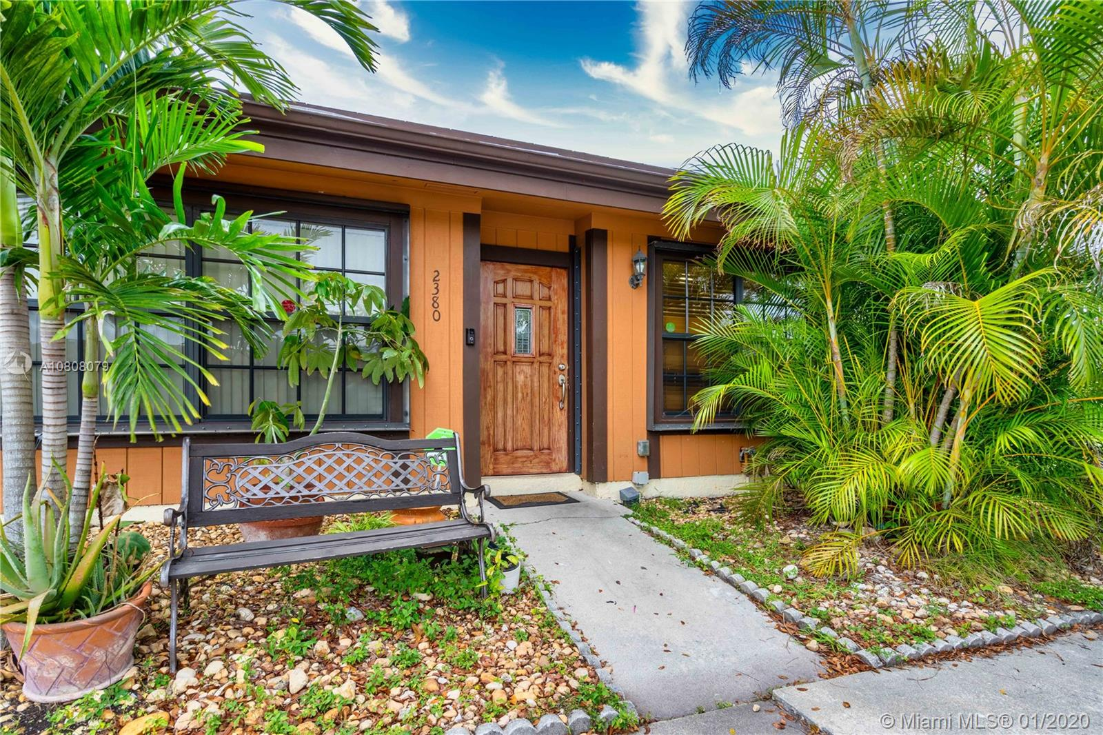 FHA APPROVED Villa in desirable Pembroke Pines!! Don't miss this rarely available 2/2 plus loft in Cedarwoods. This is a great corner unit with an open floor plan, Impact windows & doors and new AC unit. Tile and laminate floor throughout with vaulted ceilings. Great little community that is pet-friendly. This home has extra space in the fenced backyard being that it is a corner unit. No renting for 2 years. Roof 2006. No commercial vehicles. The association paints the exterior every 7 years and maintains common areas.