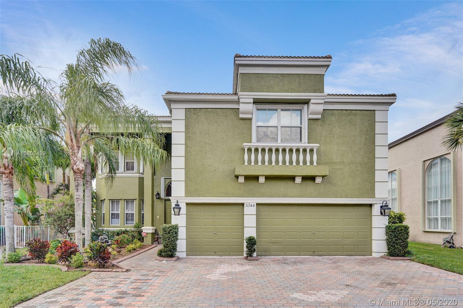 5344 SW 159th Ave  For Sale A10808489, FL