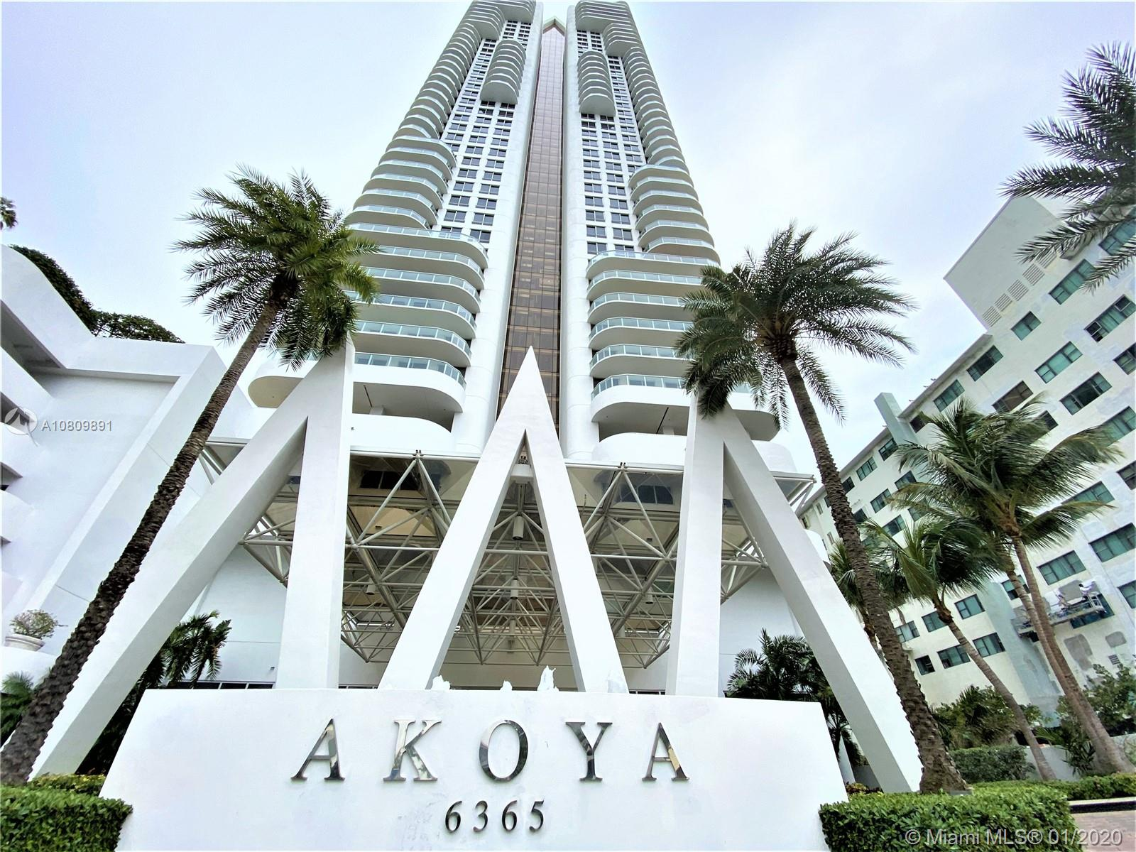 6365  Collins Ave #1509 For Sale A10809891, FL