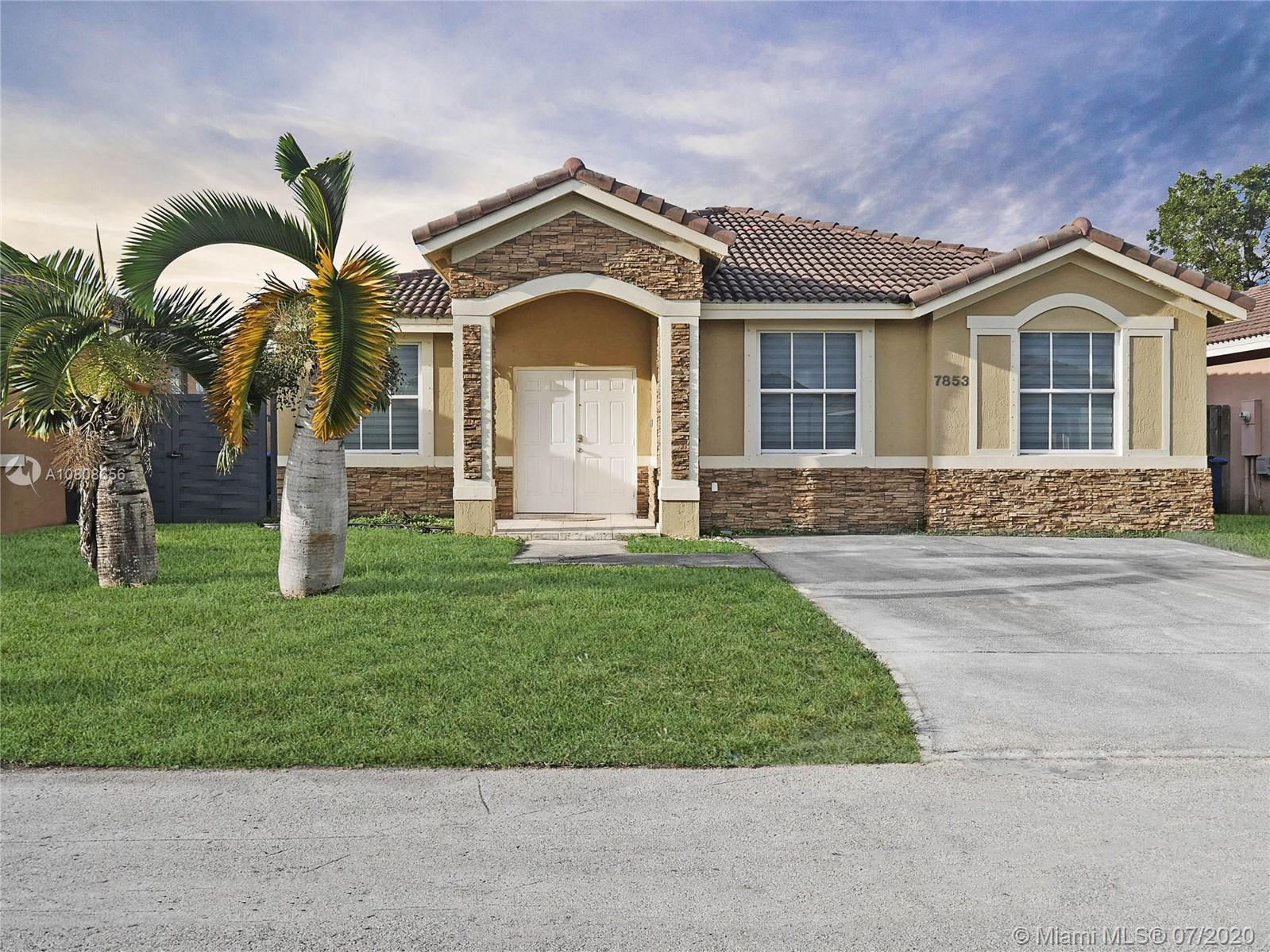 7853 NW 194th Ter  For Sale A10808656, FL
