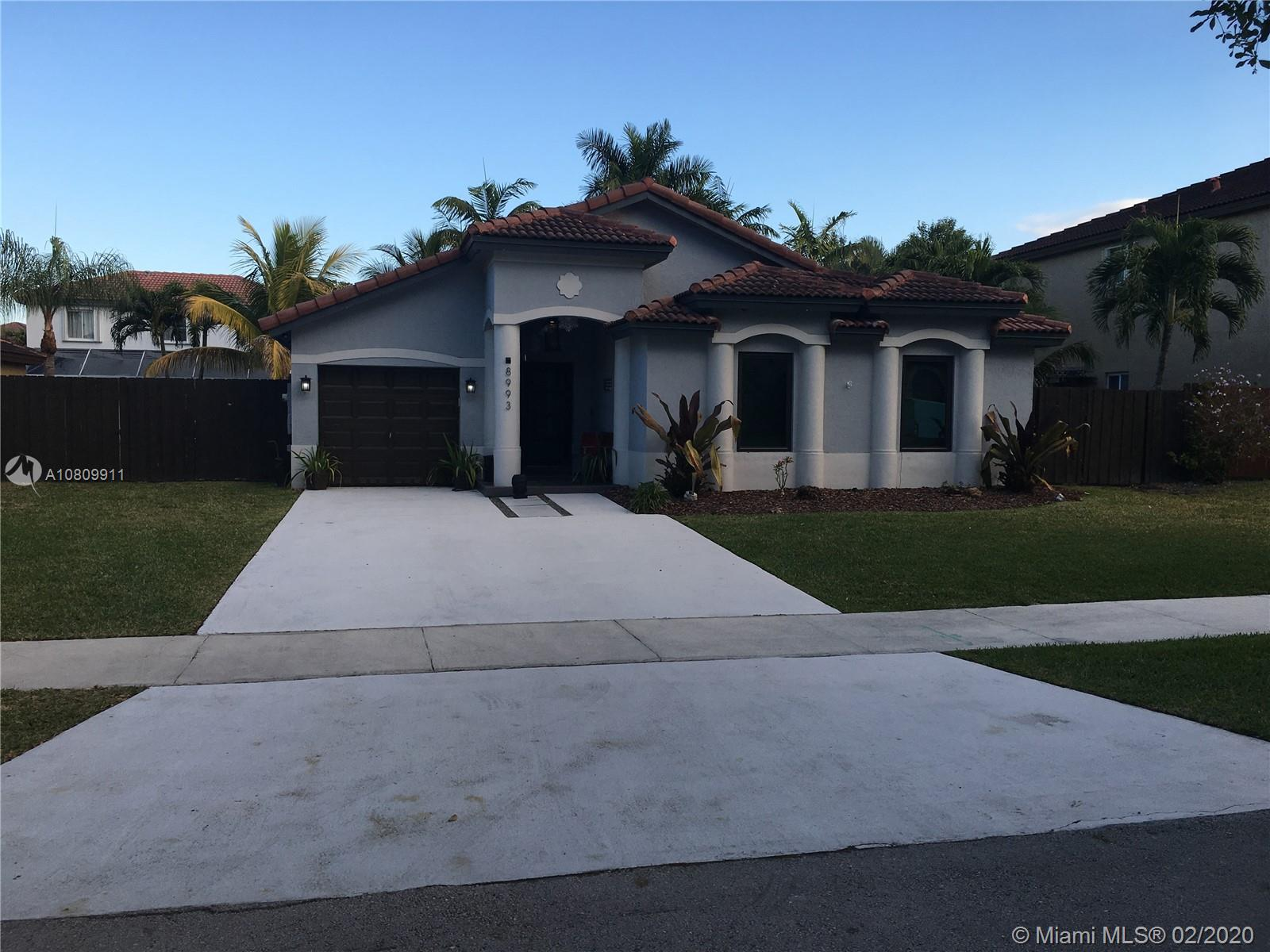 8993 SW 212th Ln  For Sale A10809911, FL