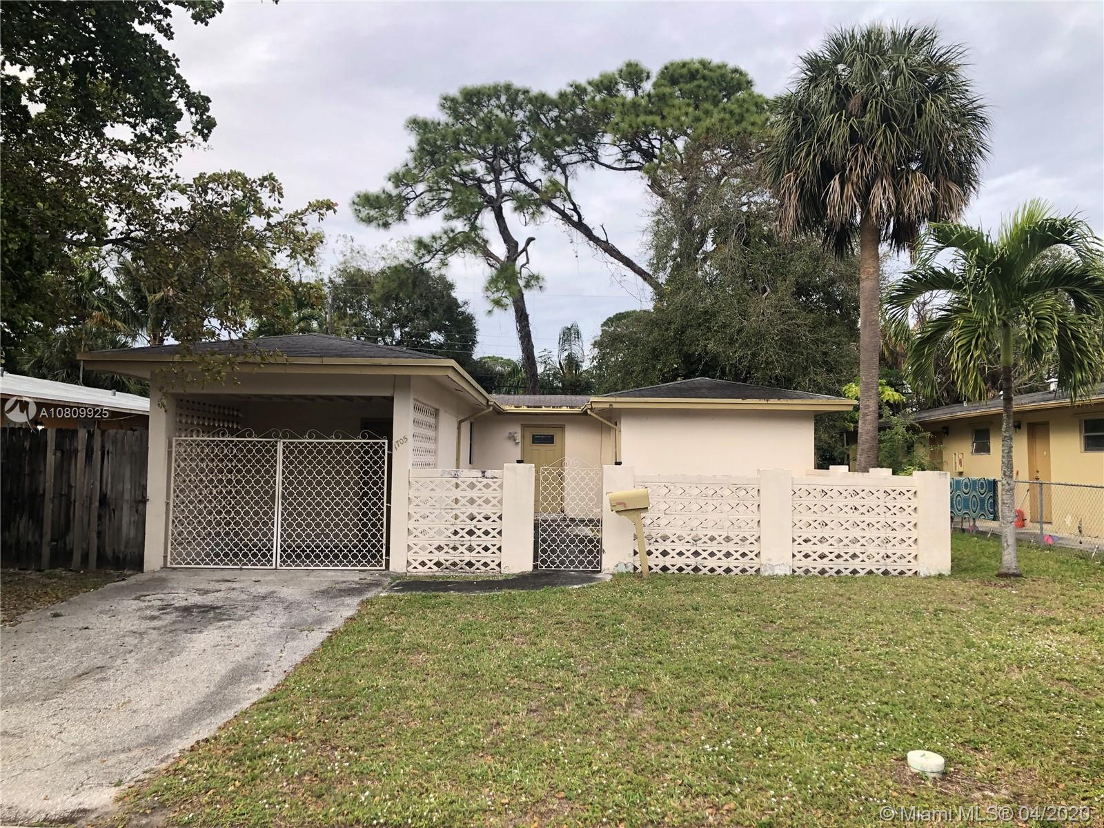 1705 SW 11th St  For Sale A10809925, FL