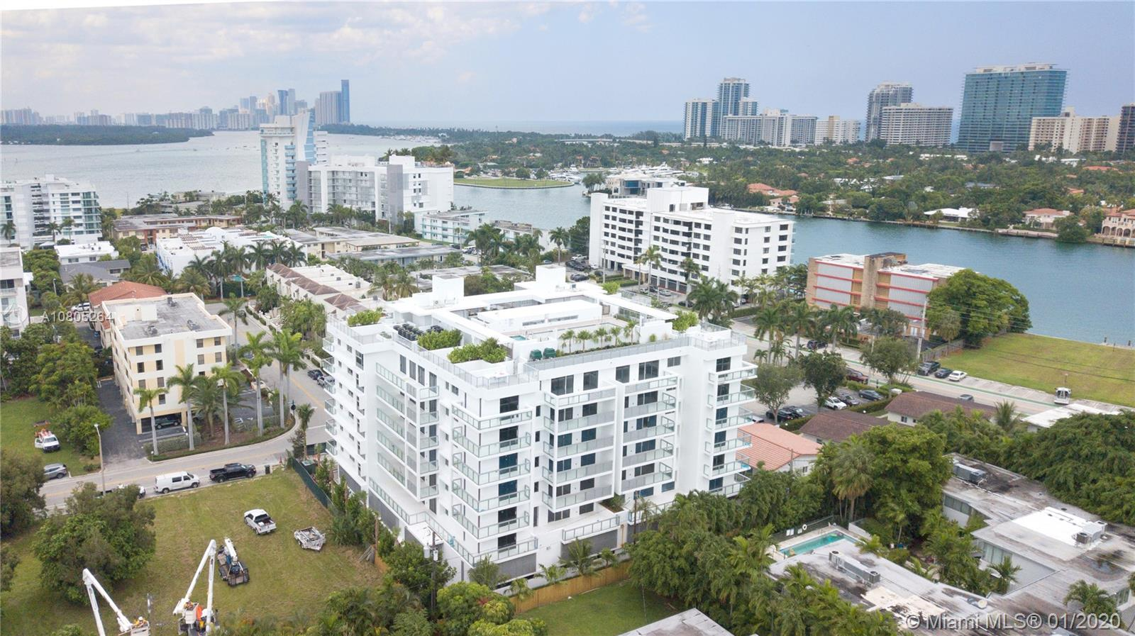 Bay Harbor One, a selection of distinctive condominium residences situated in the enclave of Bay Harbor Island in close proximity to the Bal Harbour Shops, restaurants, and the beach. A modern, yet timeless architectural design; these spacious residences are delivered with designer kitchens and baths, smart home technology, and expansive terraces with glass railings. The building offers an array of amenities with features including 24-hour concierge services, rooftop pool, a multipurpose area and residence storage units. Private cabanas with outdoor kitchens are also available. Only a limited inventory remains, so call today for your personal tour!