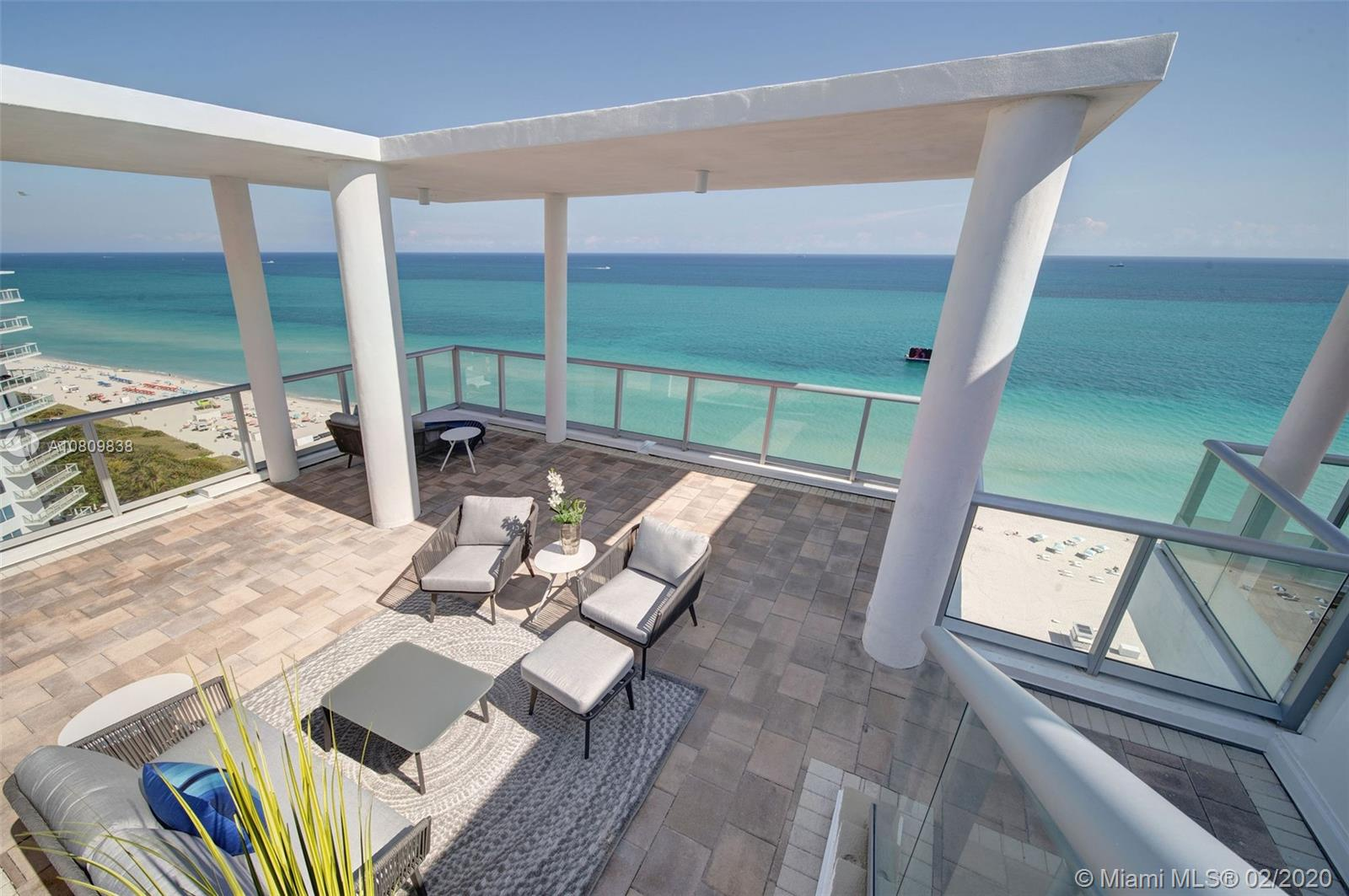 3737  Collins Ave #PH-4 For Sale A10809838, FL