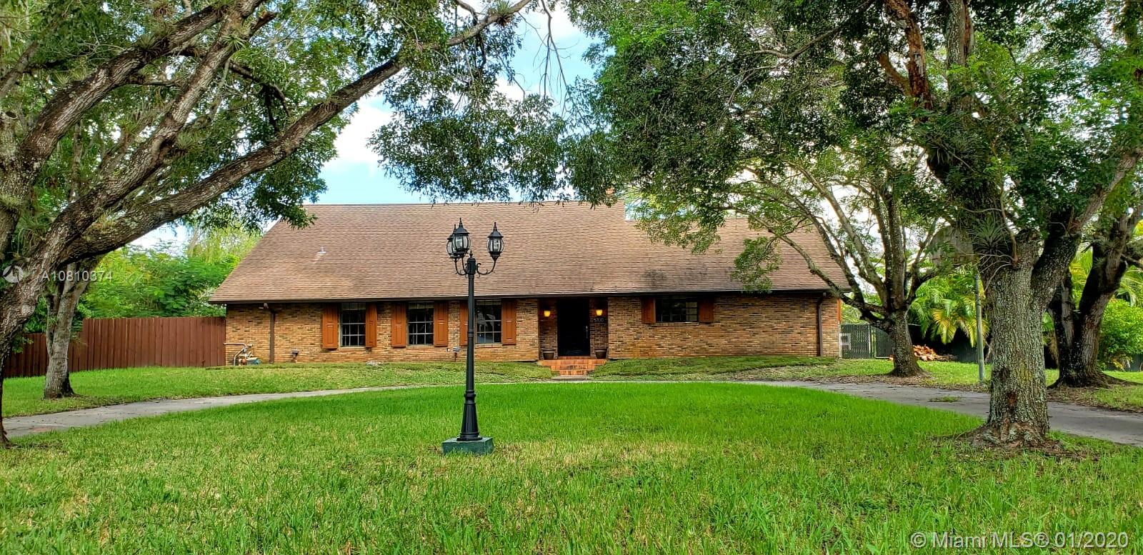 5700 SW 163rd Ave  For Sale A10810374, FL