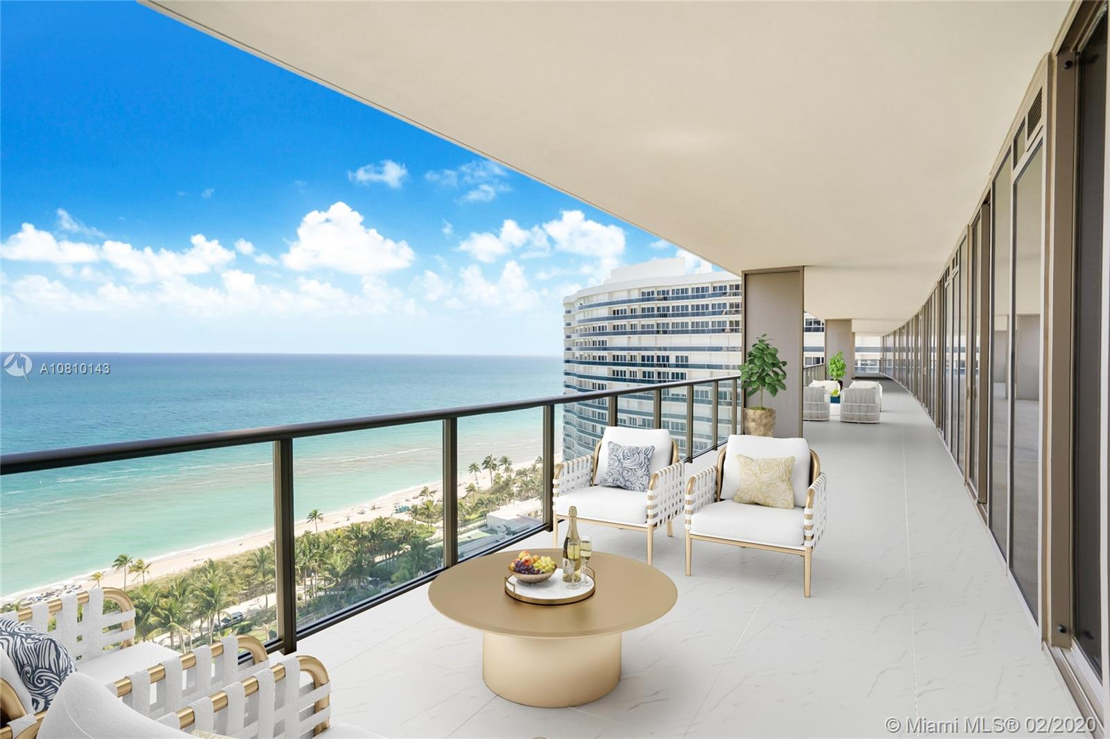 9701  Collins Ave #1701S For Sale A10810143, FL