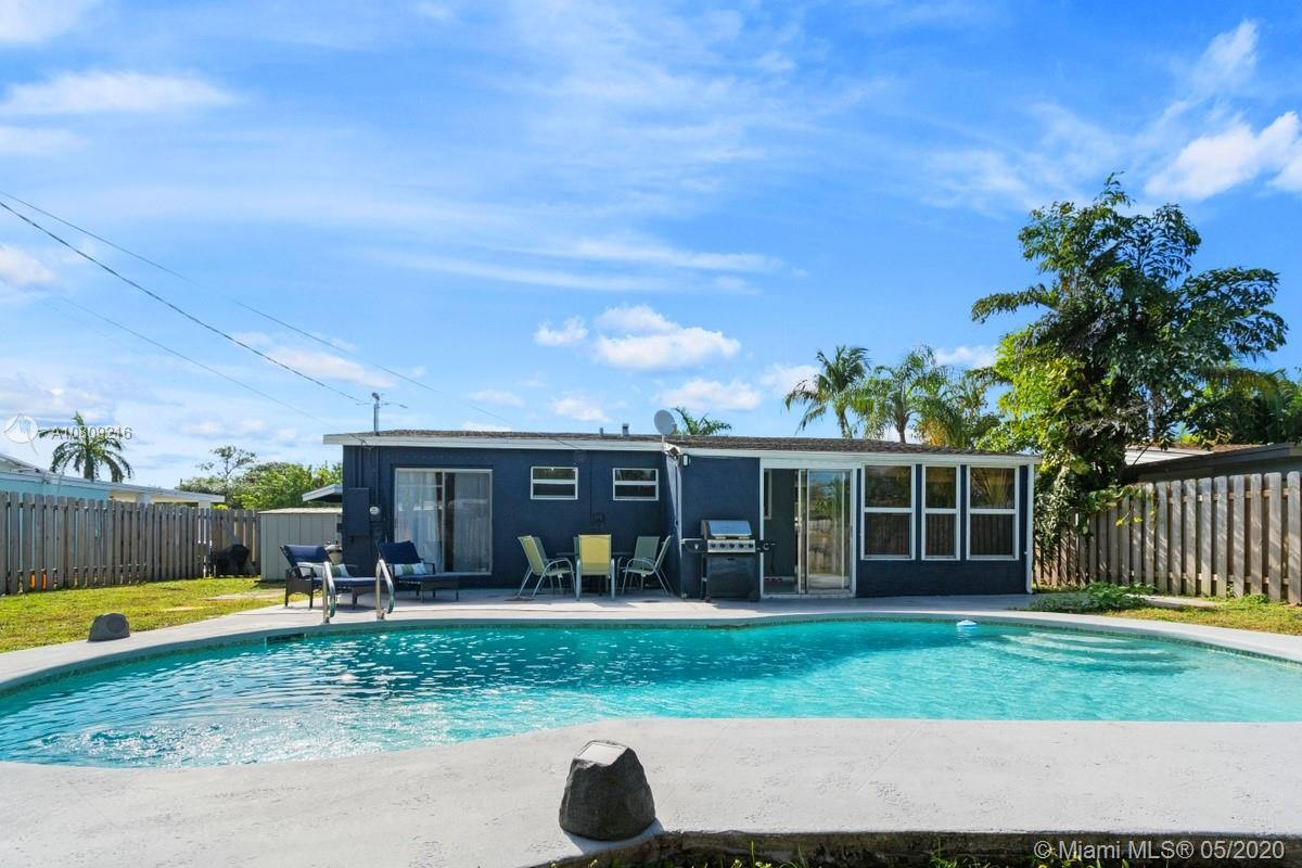 Spacious updated 3 bedroom pool home located on a quiet street in sought after Wilton Manors. Home features modern kitchen with updated appliances. Large living room perfect for entertaining. Master bedroom features renovated master bath. Sliding doors from the Master open up right to the pool! AC unit replaced in 2018. Pool pump less than 3 months old! Large yard perfect for gatherings. A 3 minute drive or short walk to Wilton Drive where you will find numerous local restaurants, shops and a great nightlife scene. Conveniently located near major highways and 8 miles from Fort Lauderdale International Airport. Contact us today for an easy viewing!