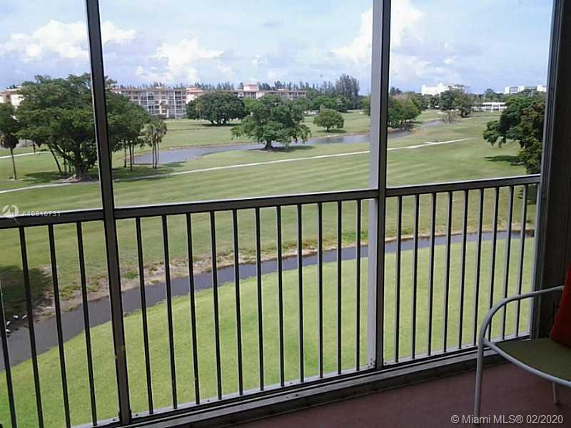 BEAUTIFUL RENOVATED AND  GRAND GOLF COURSE VIEW .VERY BRIGHT UNIT WITH LOT OF CLOSETS . CONVENIENTLY LOCATED NEAR PUBLIX/ PHARMACY, REC CENTER , PARK AND WORKOUT AREA. BUILDING EXTERIOR UPDATED. PROPERTY IS RENTED  WITH A NICE TENANT SINCE 2 YEARS FOR 1200 USD