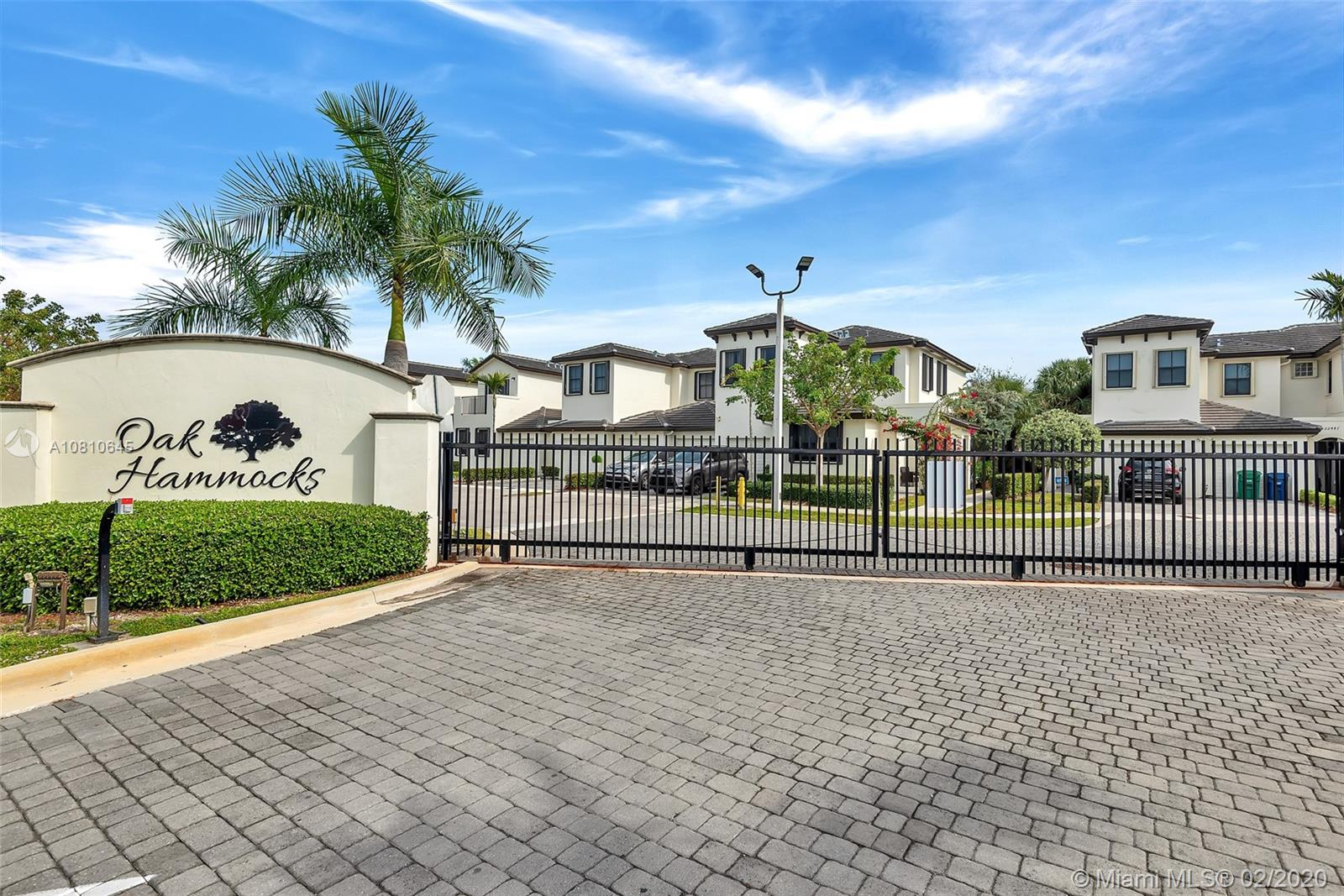 22505 SW 102nd Ave  For Sale A10810645, FL