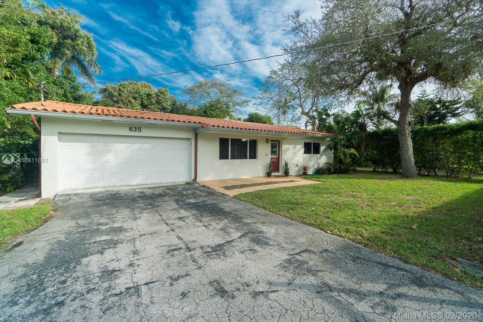 635 NE 116th St  For Sale A10811001, FL