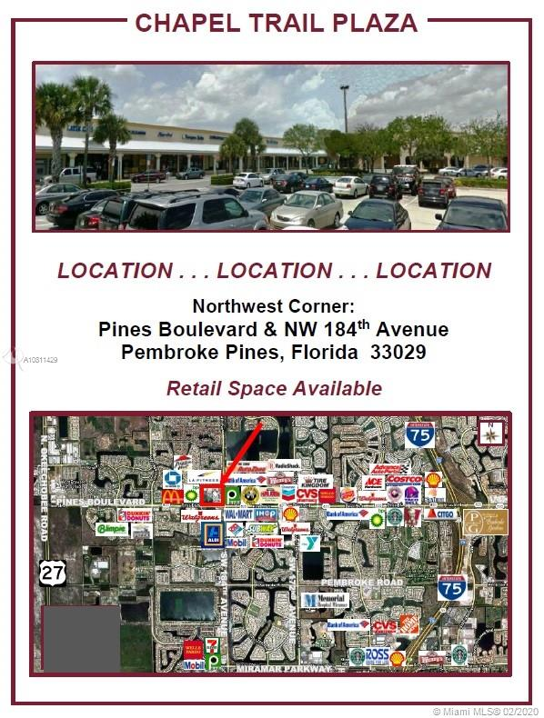 18433  Pines Blvd  For Sale A10811429, FL