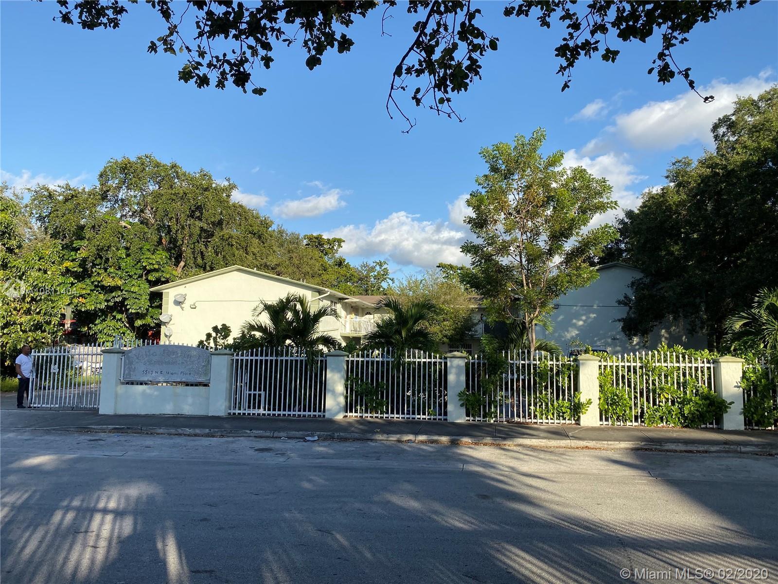 5513 NE Miami Pl #4 For Sale A10811404, FL