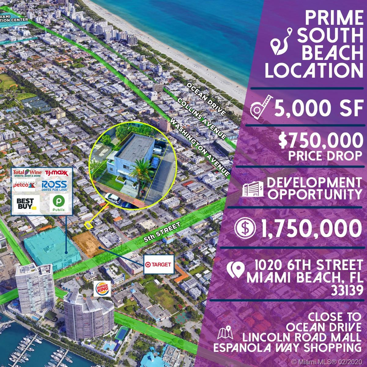 1020  6th St  For Sale A10811622, FL
