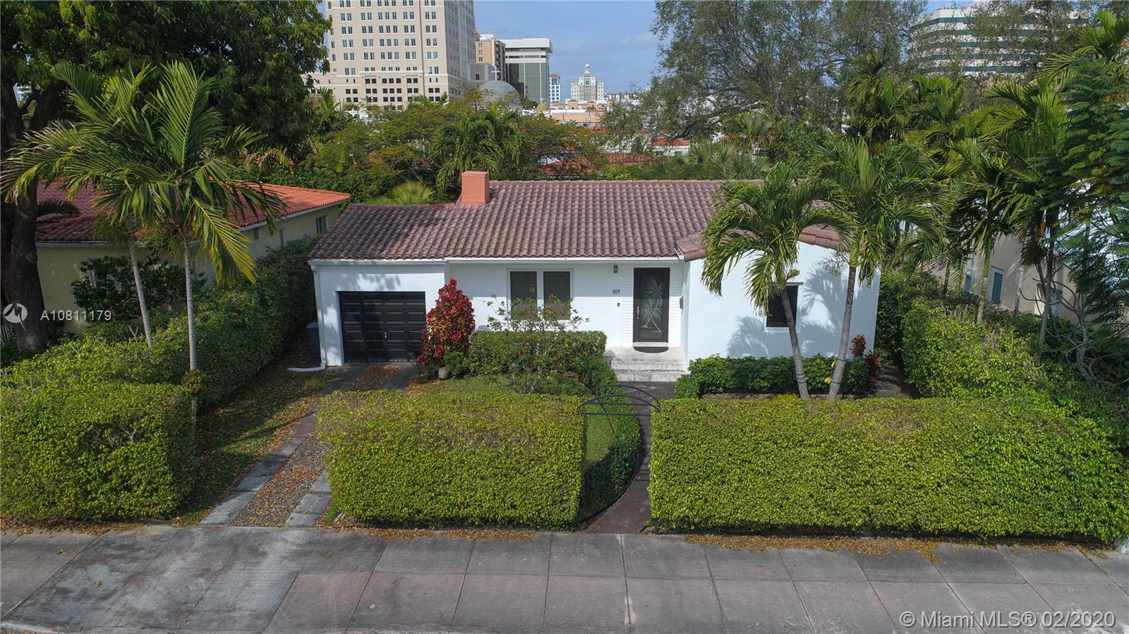 317  Malaga Ave  For Sale A10811179, FL