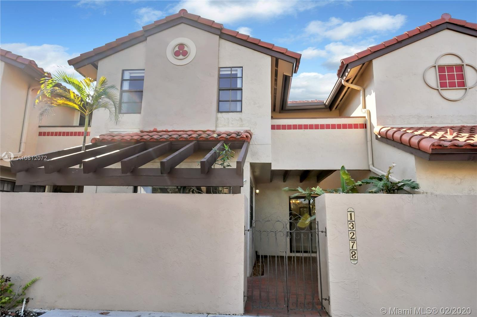 13278 SW 114 Terrace #13278 For Sale A10812072, FL
