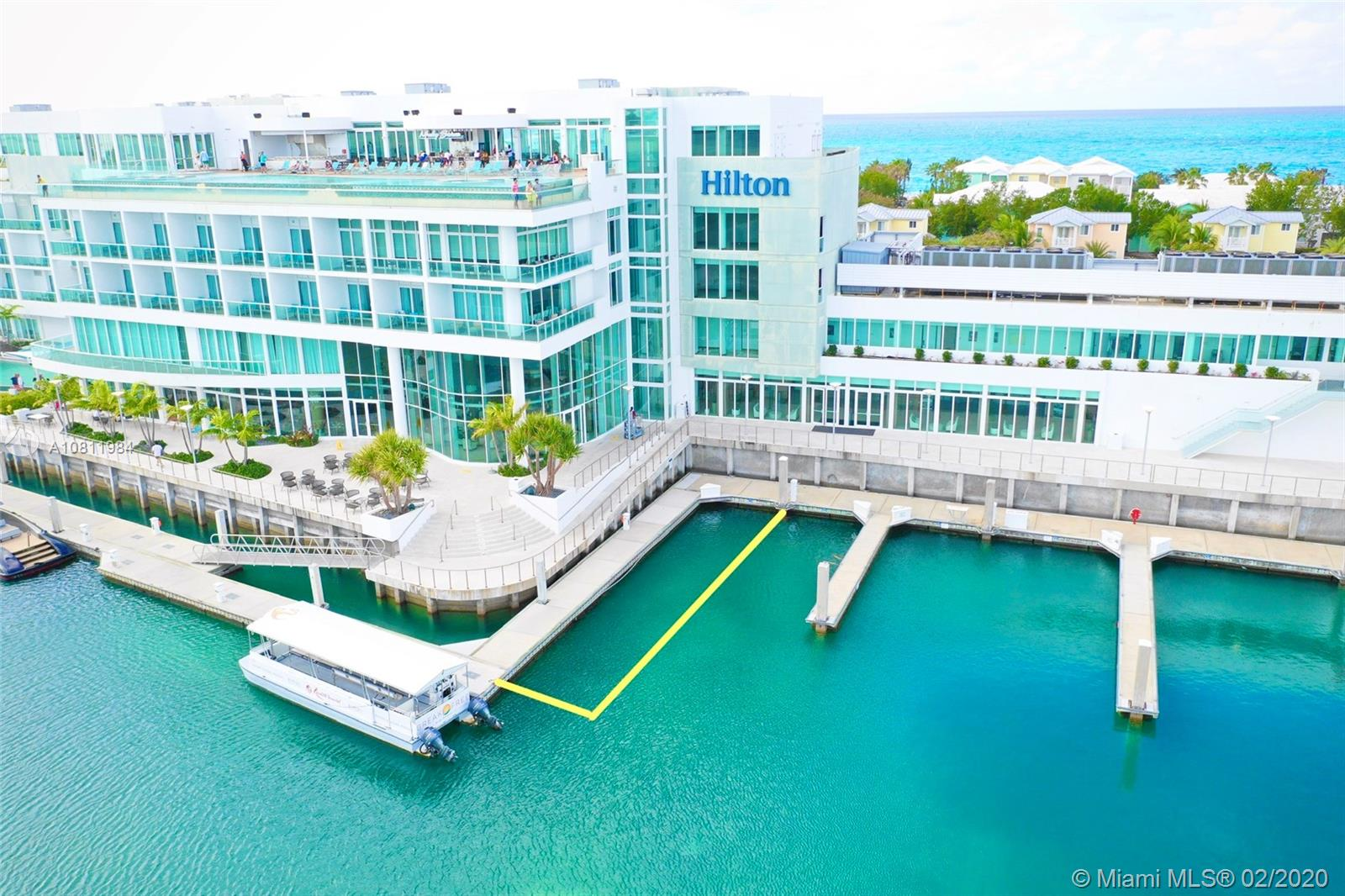 BAHAMAS MEGA YACHT MARINA, EXUMA NO. 1  For Sale A10811984, FL