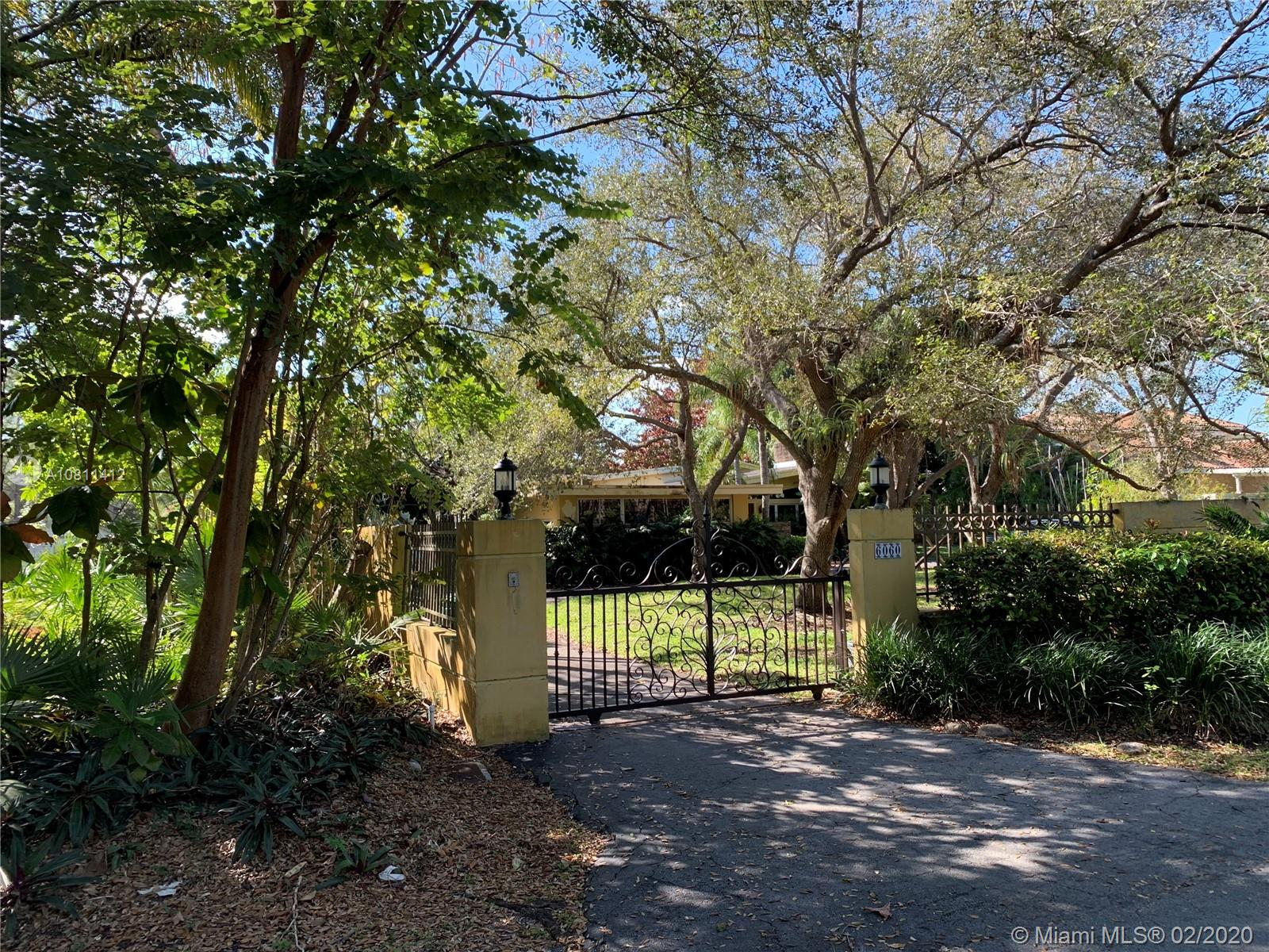 6060 SW 118th St  For Sale A10811412, FL