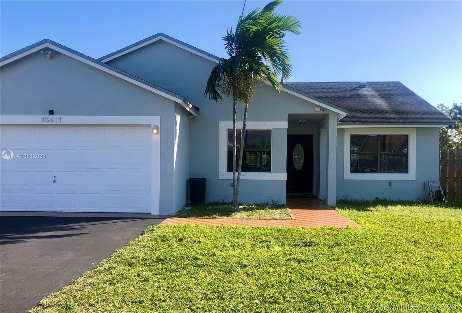 13411 SW 112th Ct  For Sale A10812833, FL