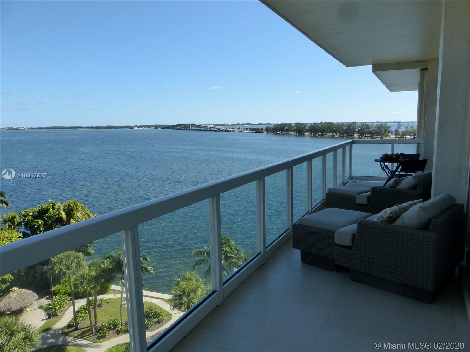 2451  Brickell Ave #8D For Sale A10812827, FL