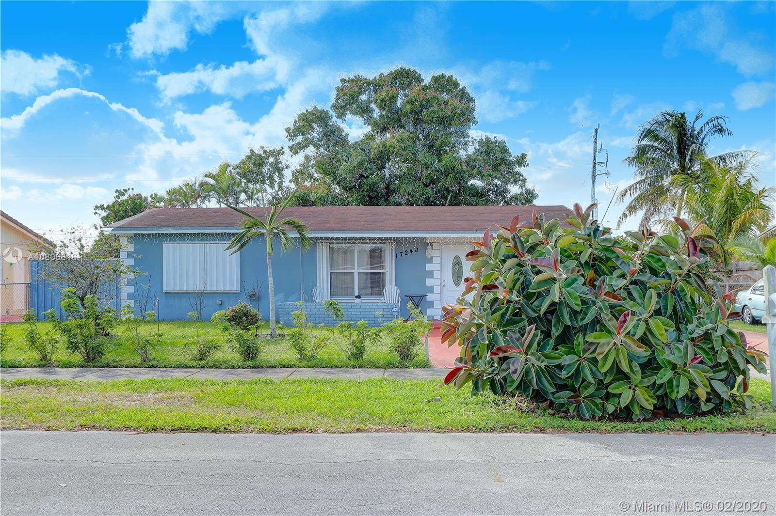 17240 NW 53rd Ct  For Sale A10806816, FL
