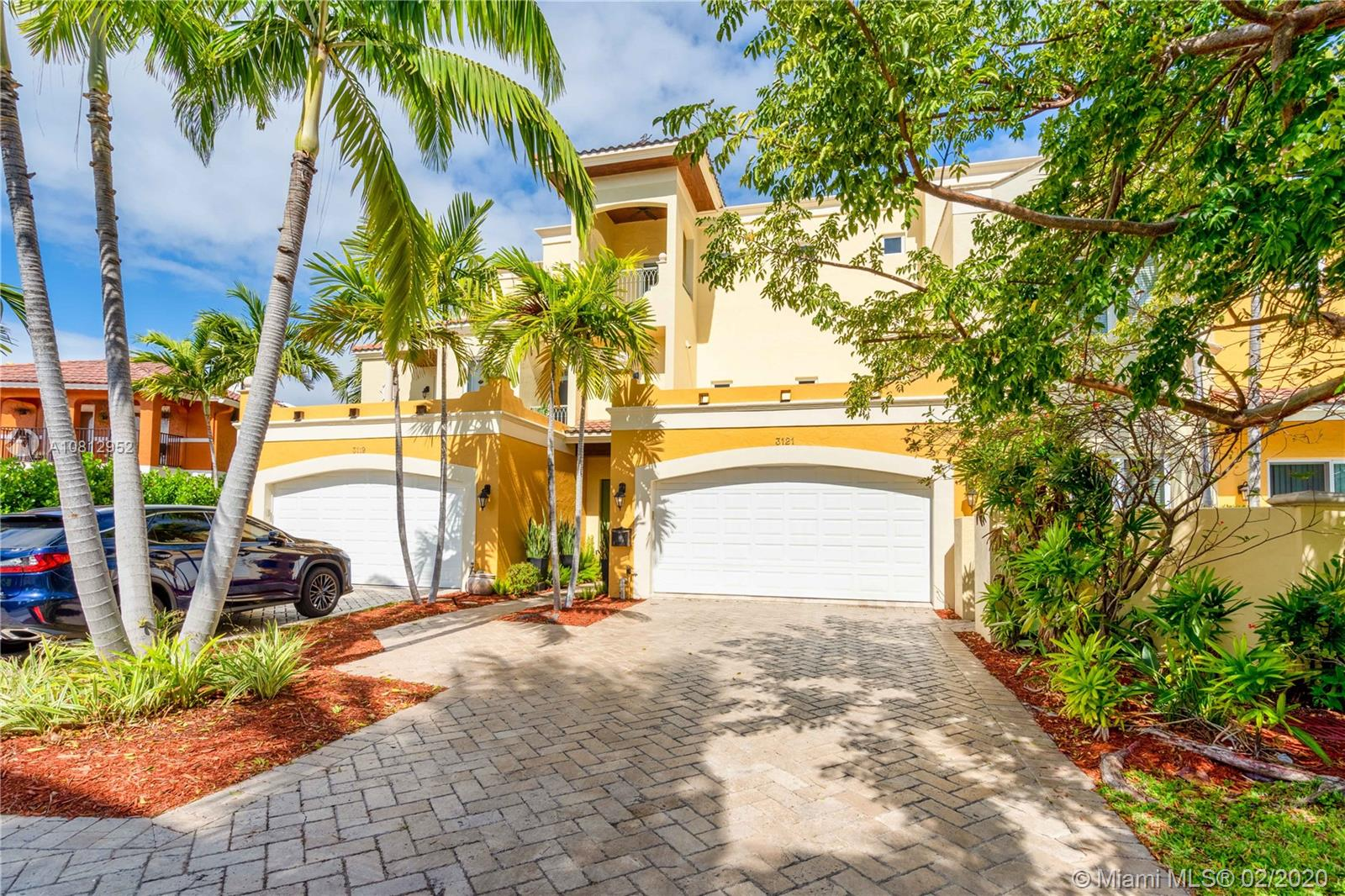 One of a kind townhome in the prestigious Dolphin Isles in east Fort Lauderdale. This 3 bedroom, 4 bathroom townhouse has it all! Top of the line tile and hardwood flooring throughout, custom made Italian cabinetry, private elevator, safe room, and much more. This townhouse sits right on the Intracoastal and has a dock for your boat. It has a gas fireplace and range, 3 terraces, 2 master suites, a 2 car garage that is climate controlled with a Tesla charger, and the list goes on. Sitting right across from the beach, it does not get better than this! PROPERTY FOR RENT AND SALE.  Tax record sq ft incorrect. Actual Sq ft living area 2850, front entryway was blown out and they added another laundry room on the second floor.