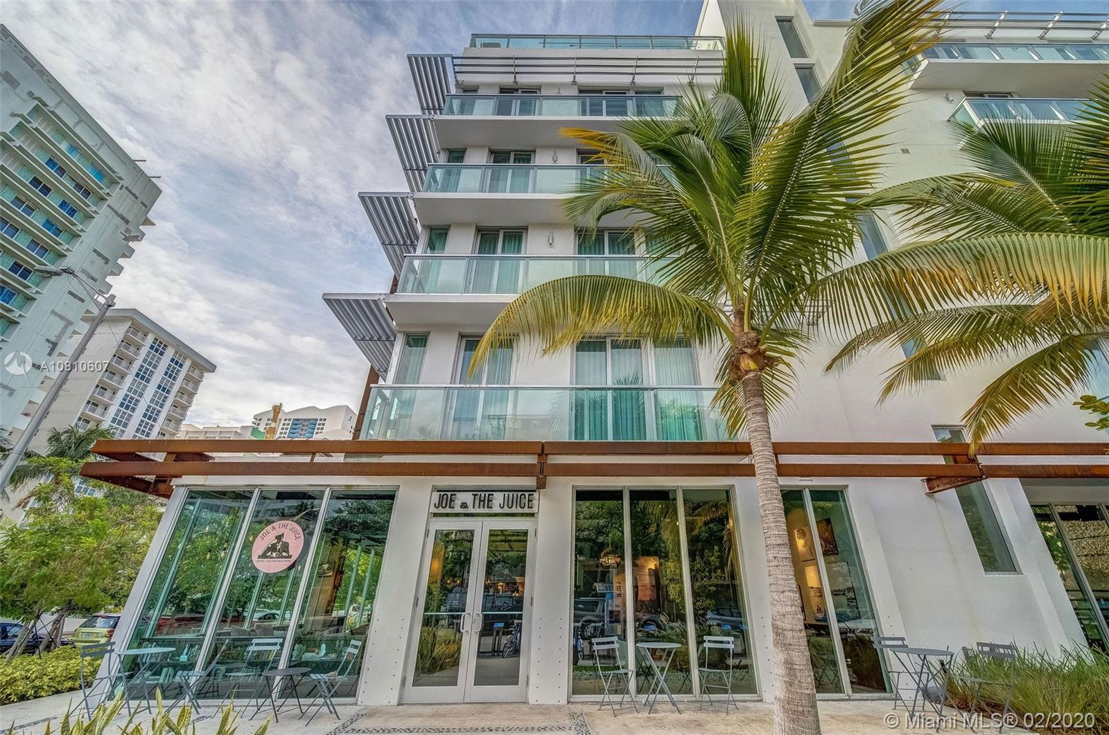 Where smart investing meets stylish living. This polished, all-suite condo/hotel located in the heart of South Beach. Airy, contemporary 1-bedroom penthouse offers free Wi-Fi and smart TV's, as well as kitchenettes, sitting areas, dining rooms and pull-out sofas. Legal condo-hotel zoned for short term rental income. Available on-site program or owner can rent themselves. Above average occupancy for South Beach. Financials available upon request.