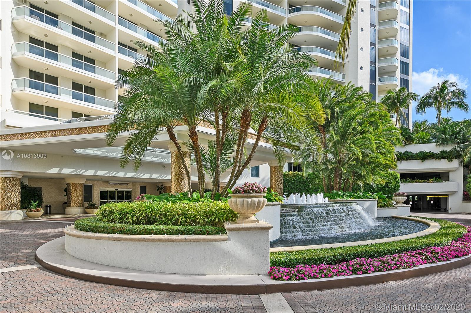 Low floor lovers unite as a private elevator brings you into this upgraded unit w/ direct Intracoastal views. This flow thru home boasts 3 ensuite bedrooms, large media room/convertible bedroom & half bathroom. Upgraded features such as marble floors & electronic window blinds thruout. Original owners/residents have created a unit w/both functionality & unique design. The standard kitchen has been replaced w/sleek cabinetry & contains useful appliances such as auto sensitive faucet,dual refrigeration drawers and gas burners. Counters are granite w/a center island. Williams Island is a magical getaway housing Spa,community pool,restaurants,walk/bike paths, playground, 16 clay tennis courts & house of worship.Bella Mare provides juice bar daily for feeding body/soul,infinity pool & own spa.