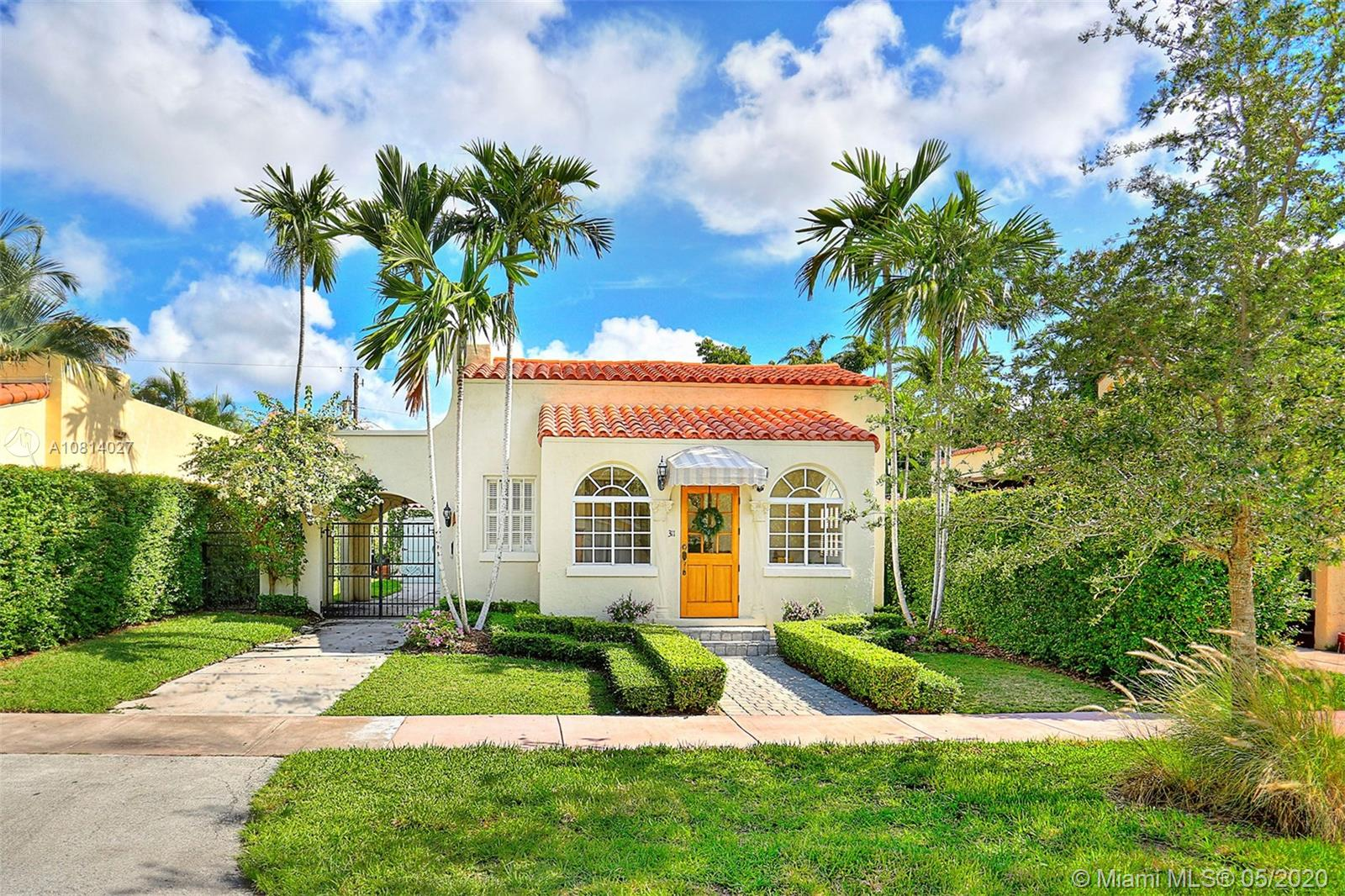 311  Viscaya Ave  For Sale A10814027, FL
