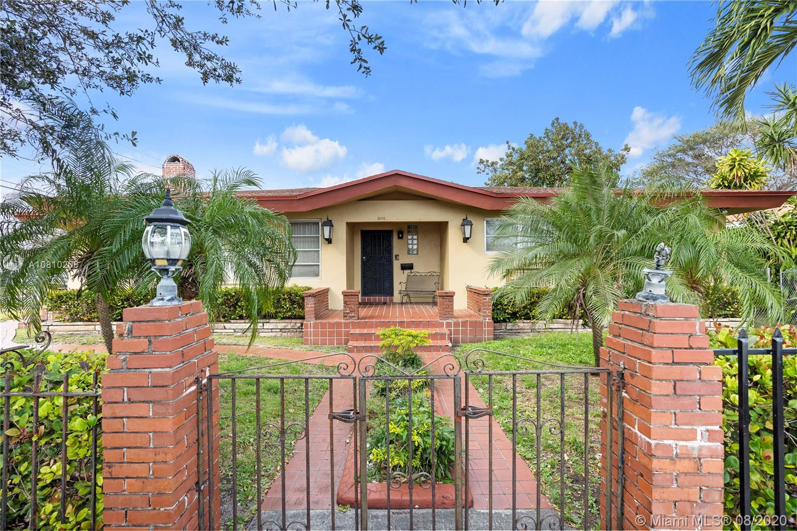 3095 NW 52nd St  For Sale A10810208, FL