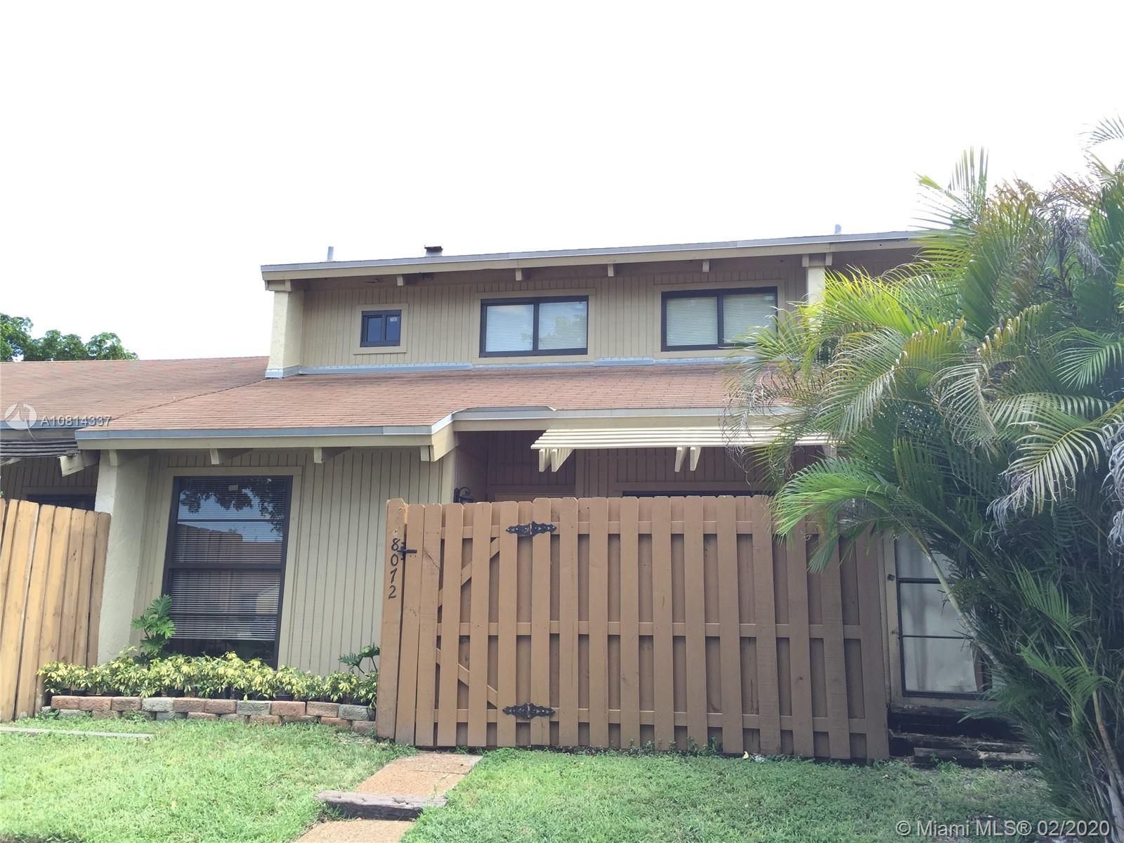 8072 SW 21st Ct #8072 For Sale A10814337, FL