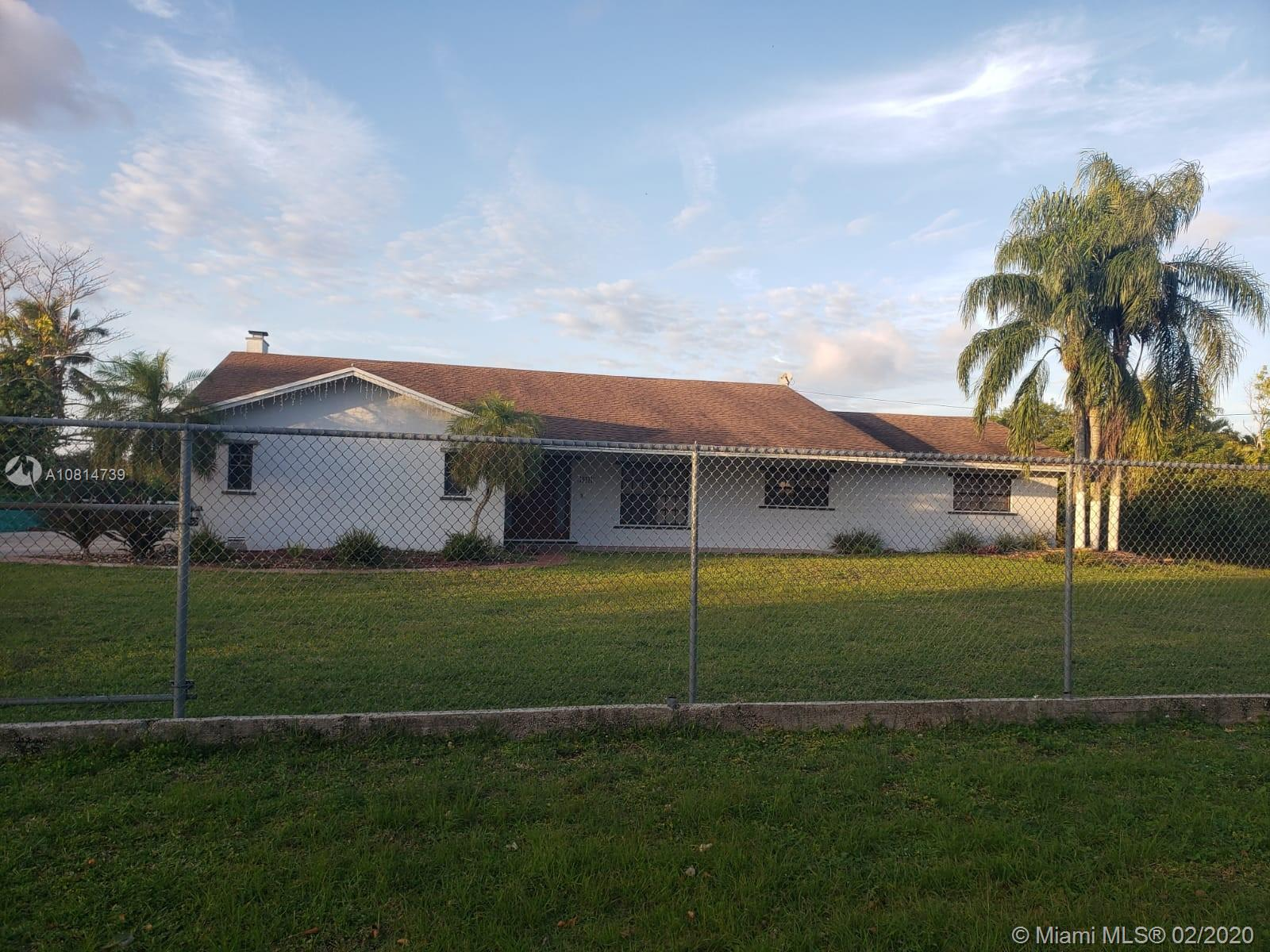19491 SW 210th St  For Sale A10814739, FL