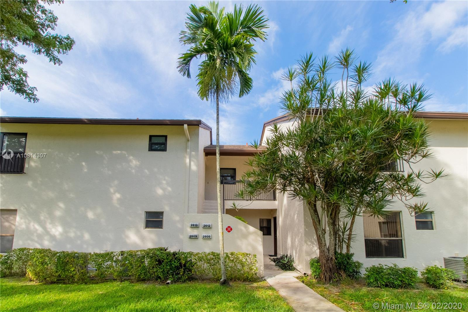 Beautifully updated condo in the desirable Baywood village of Coconut Creek city! Enter into the open and bright living room which separates the big size master bedroom area with the other two spaces bedrooms for complete privacy. The luxurious kitchen room is one of its kind from the silver metal designed backslash to the granite counter-top finished up with custom cabinetry with newer stainless steel appliances. Master bedroom has walk-in closet, and newer bathroom. The 2nd bathroom is brand new with toilet water jet! House was freshly painted with very efficient open floor plan, airy, elegant and cozy plus many caring details embedded throughout the years of home ownership by sellers. Immaculate move-in condition. Easy to get approve by association