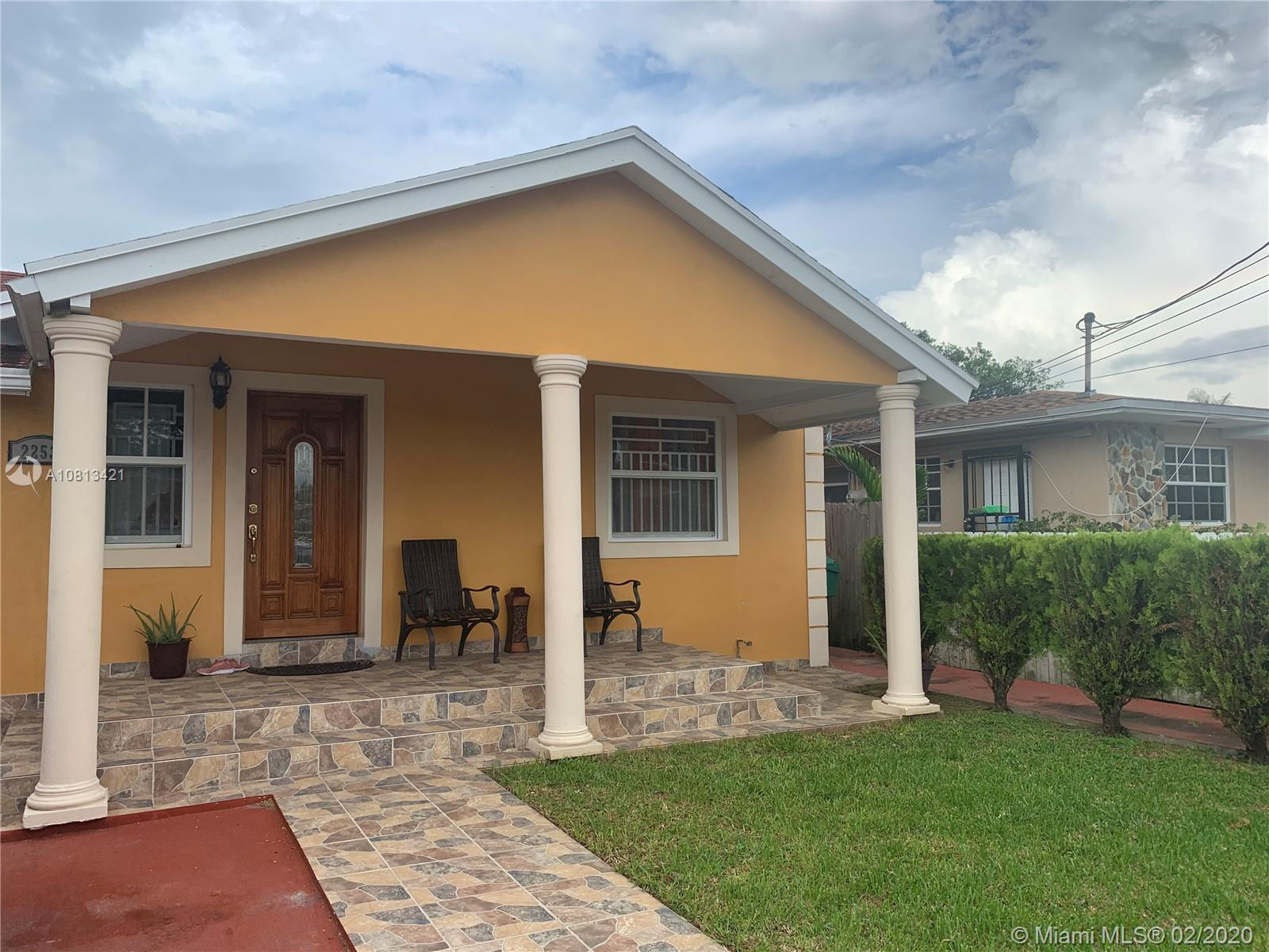 2253 NW 32nd St  For Sale A10813421, FL