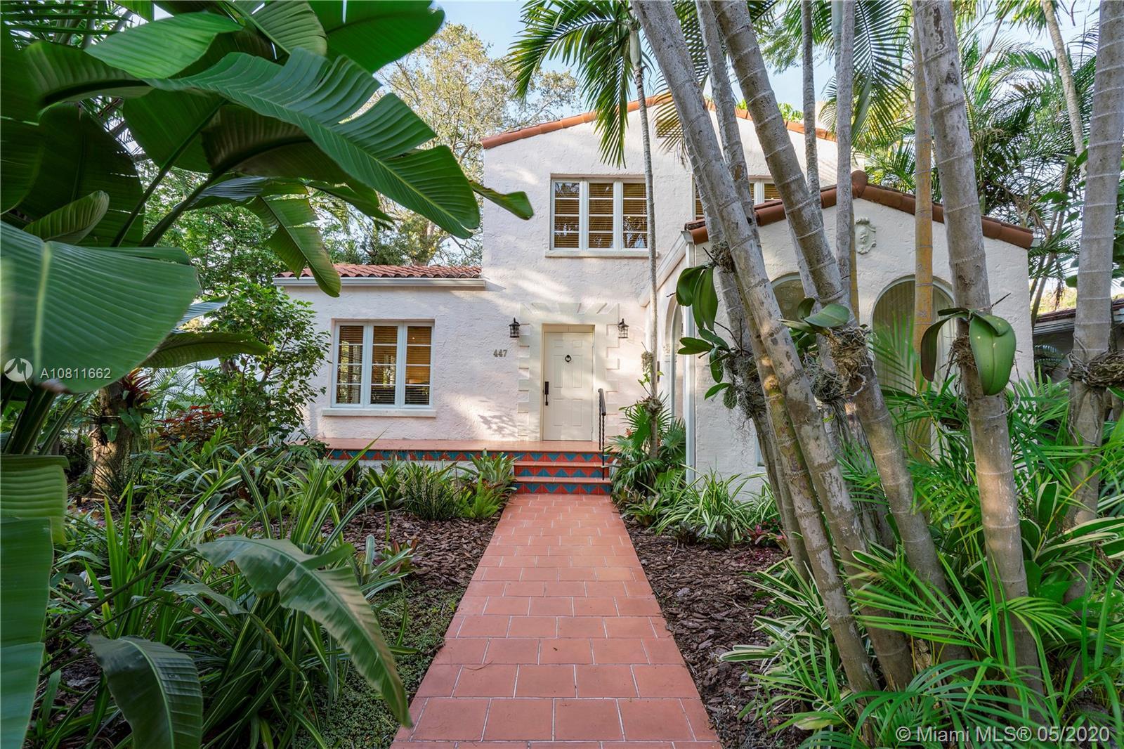 447  Alcazar Ave  For Sale A10811662, FL