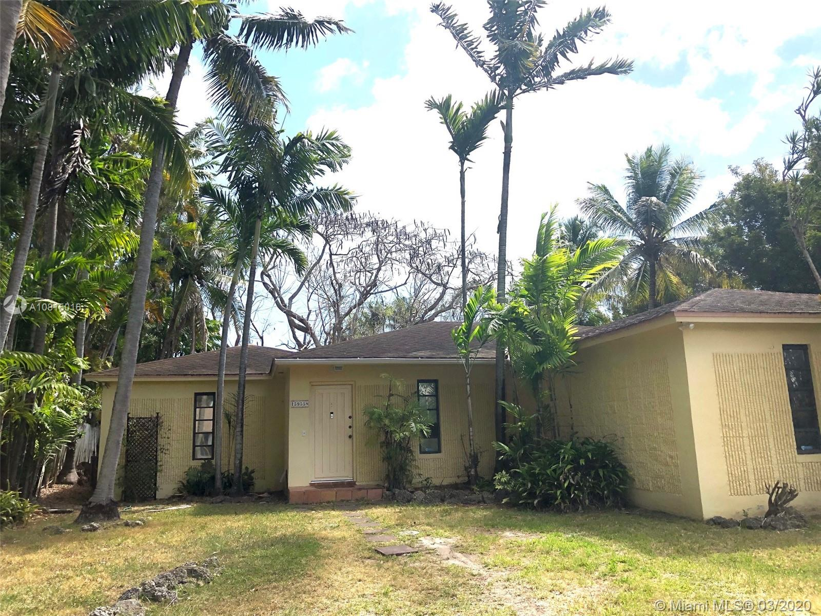 15955 SW 90th Ave  For Sale A10815016, FL