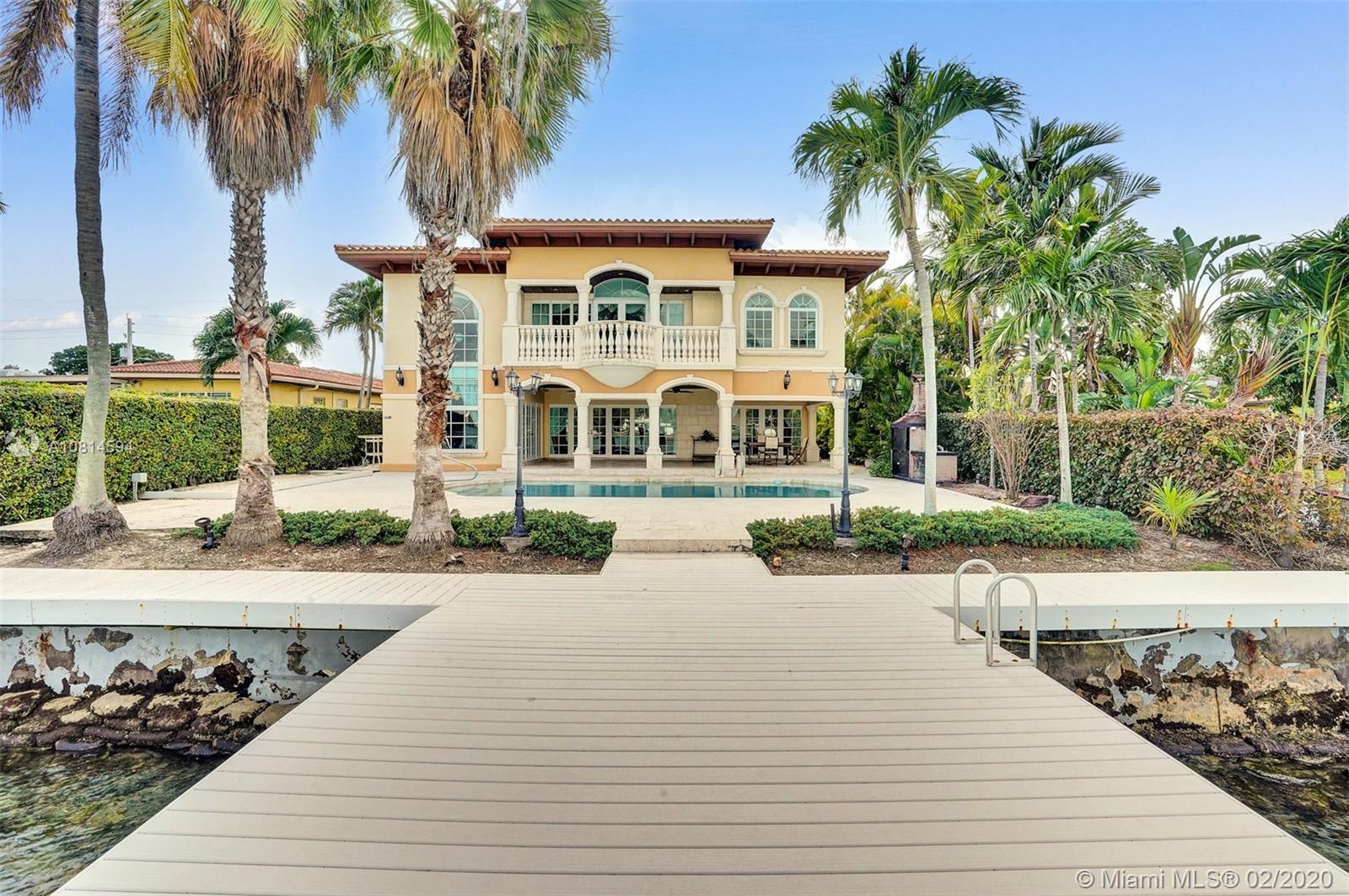 655 N Shore Dr  For Sale A10814594, FL
