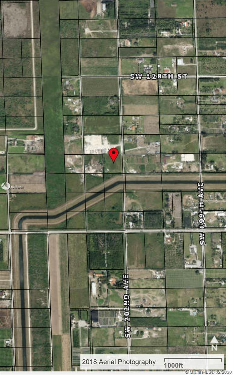 SW 202 Ave 131 St  For Sale A10813530, FL