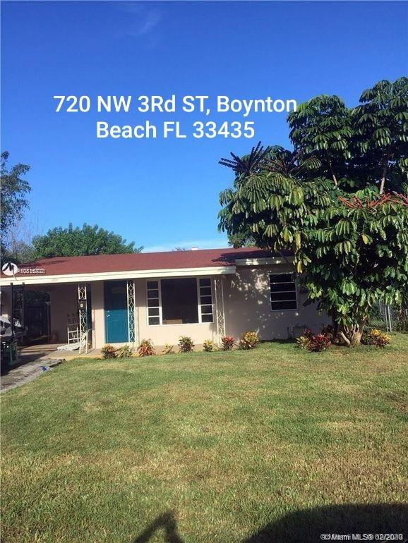 720 NW 3rd St  For Sale A10815922, FL