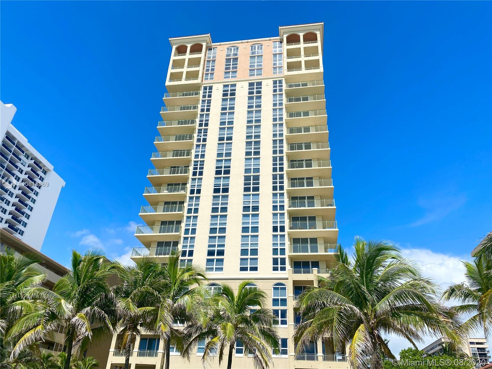 2080 S Ocean Dr #1001 For Sale A10816069, FL