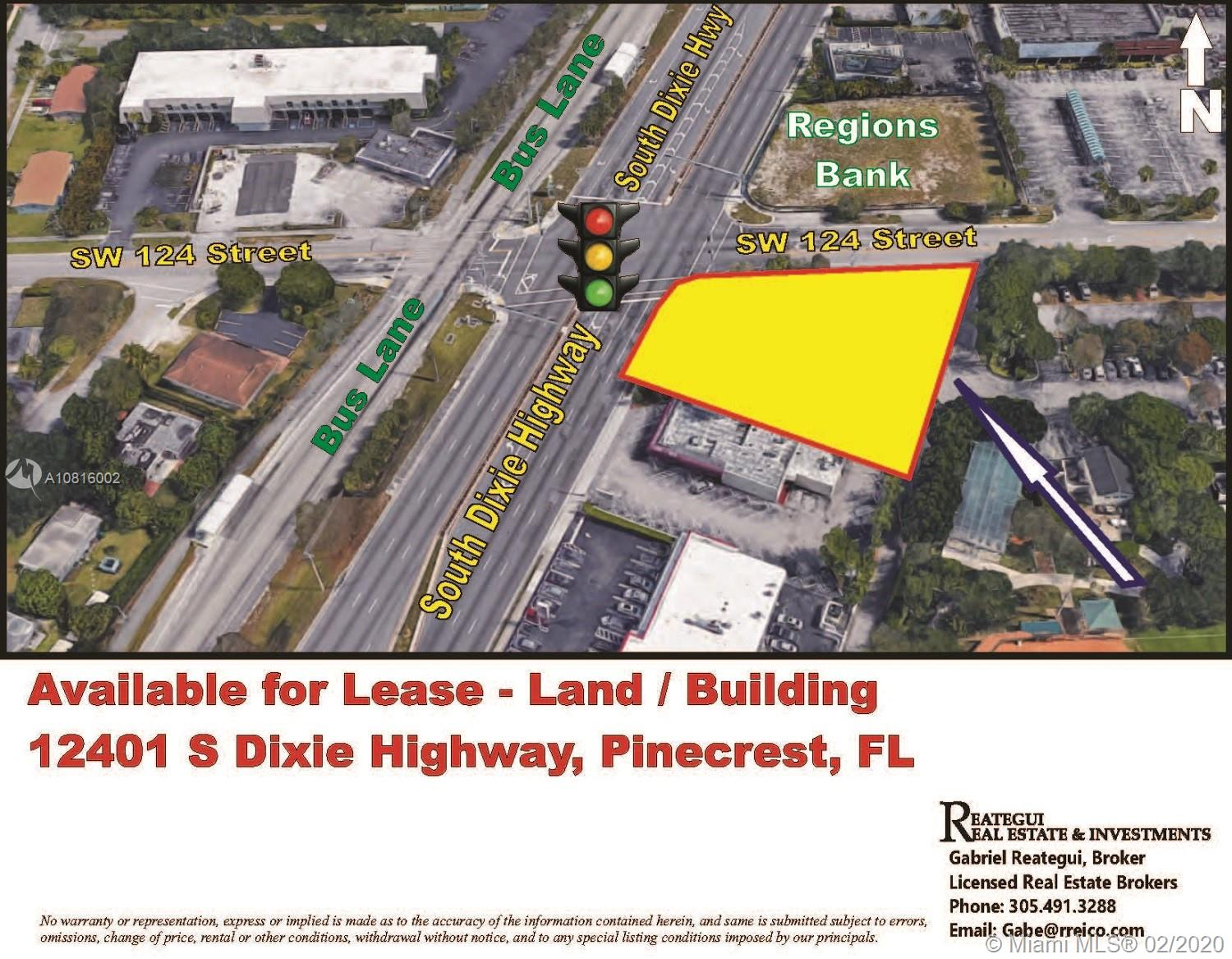 12401 S Dixie Hwy  For Sale A10816002, FL