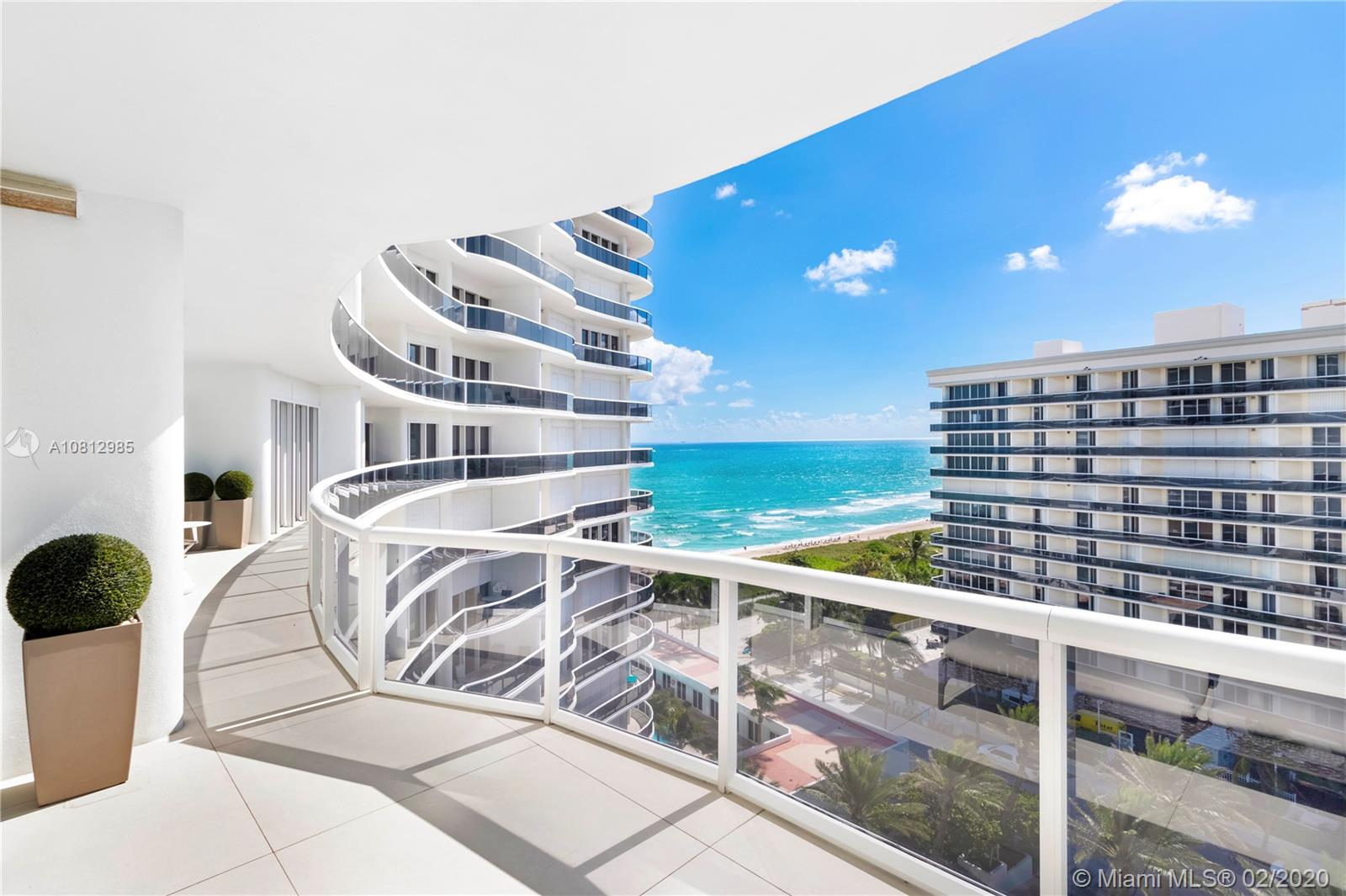 9601  Collins Ave #1009 For Sale A10812985, FL
