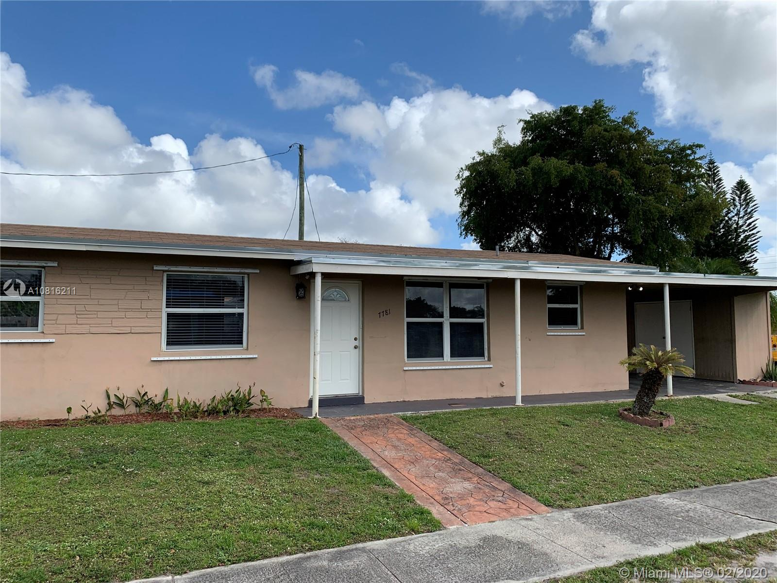 7781  Farragut St  For Sale A10816211, FL