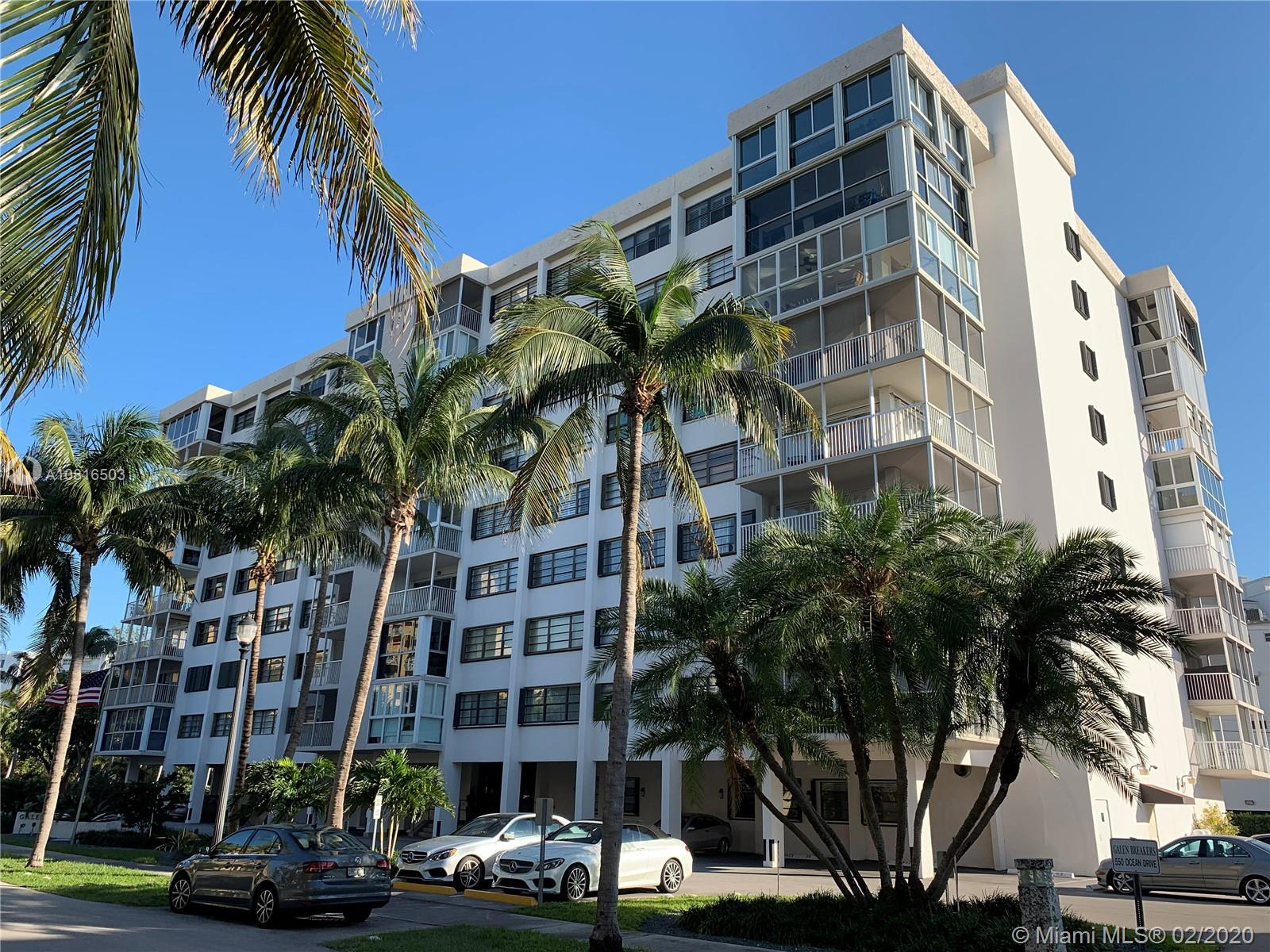 CORNER UNIT, WITH  WRAP AROUND BALCONY 2/2, OVERLOOKING GALEN DRIVE, KEY BISCAYNE,LARGE SPACIOUS  BEDROOMS  AND CLOSETS. A WELL MANAGED BOUTIQUE BULDING, JUST A FEWSTEPS FROM THE BEACH, RESTAURANTS,  AND VERY CLOSE TO THE RITZ CARLTON. SUBJECT TO PROBATE COURT APPROVAL. PLEASE CALL LISTING AGENT, 24 HOUR NOTICE FOR APPOINTMENTS.